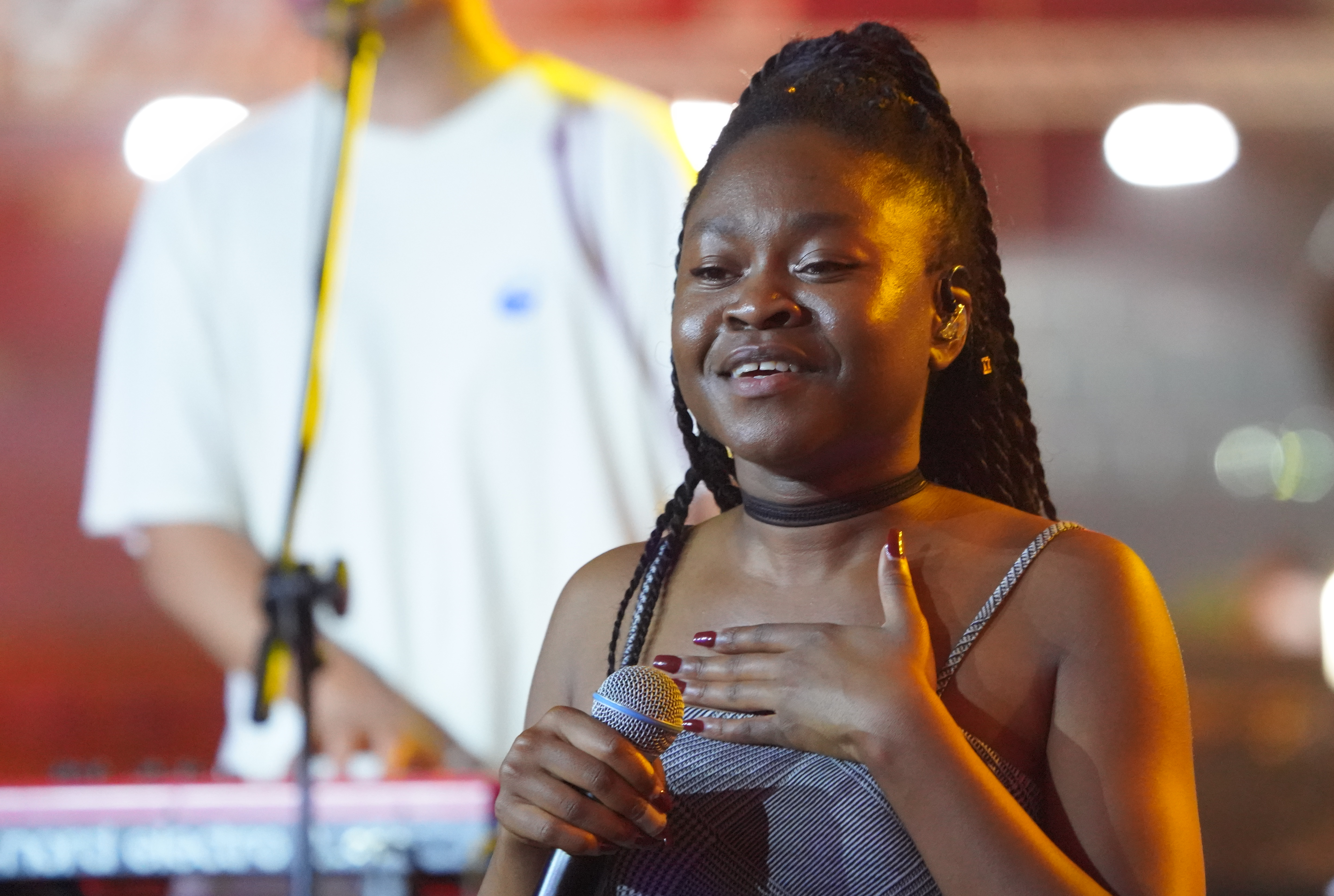 Sampa the Great performs onstage
