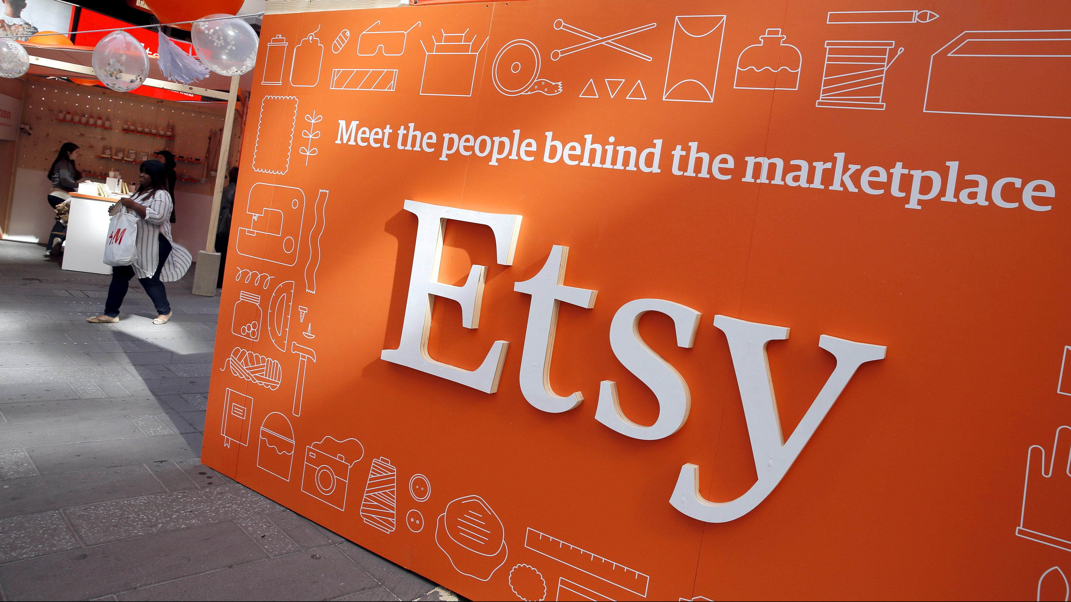 Half of Etsy's mask-only buyers are coming back for crafts