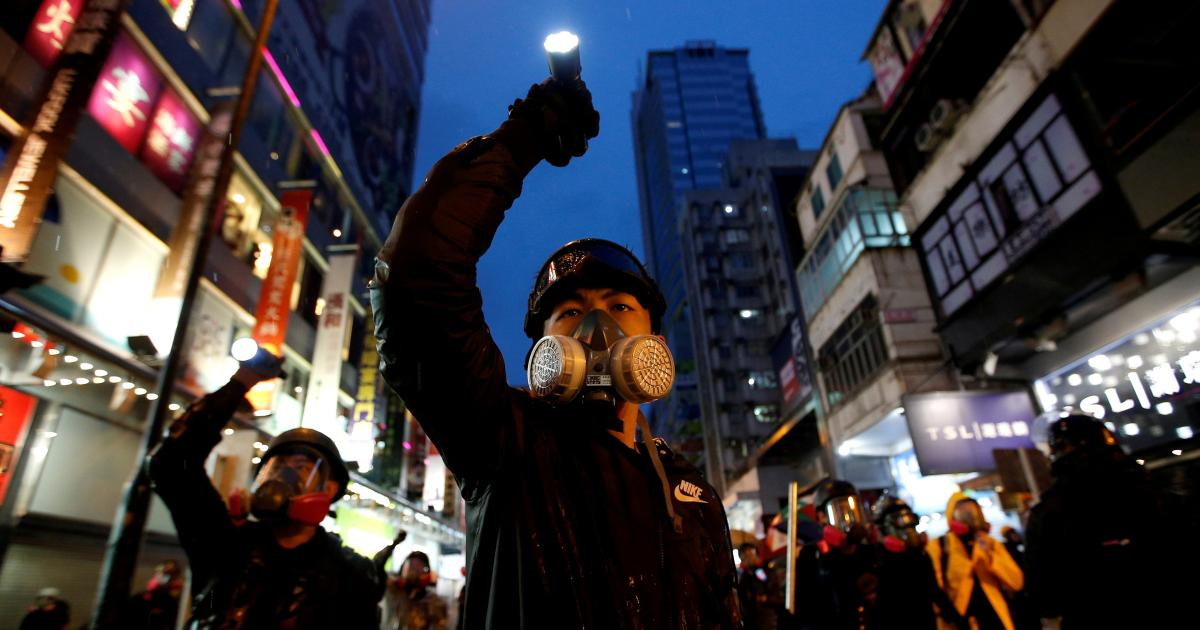 Hong Kongers crowdsourced a protest manual—and Myanmar's already using it