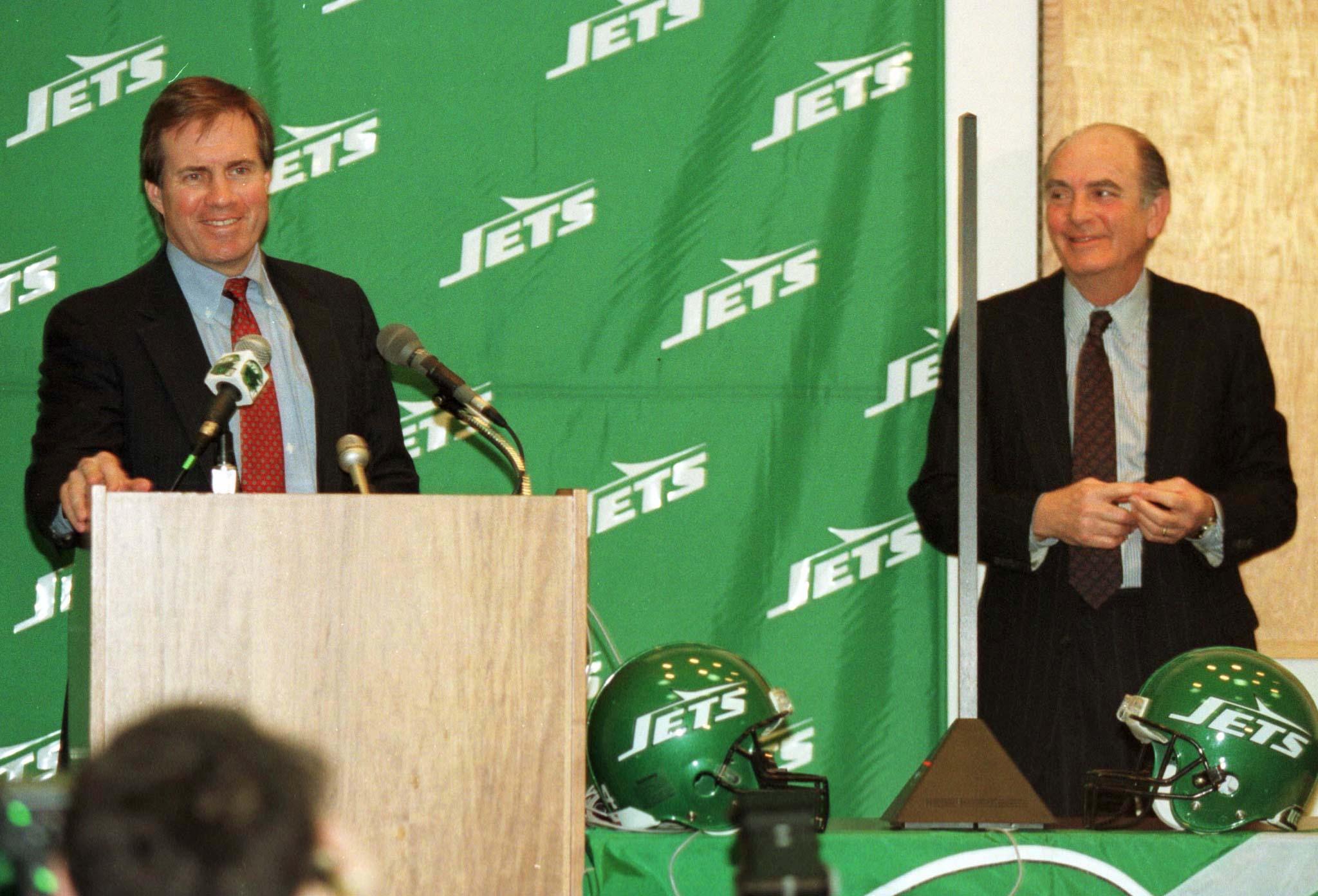 Bill Belichick, técnico do New York Jets