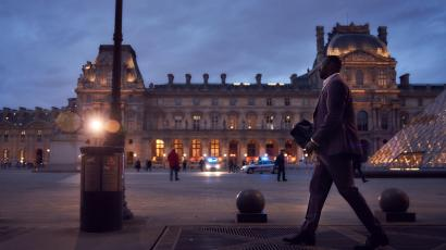 A shot from the Netflix series Lupin