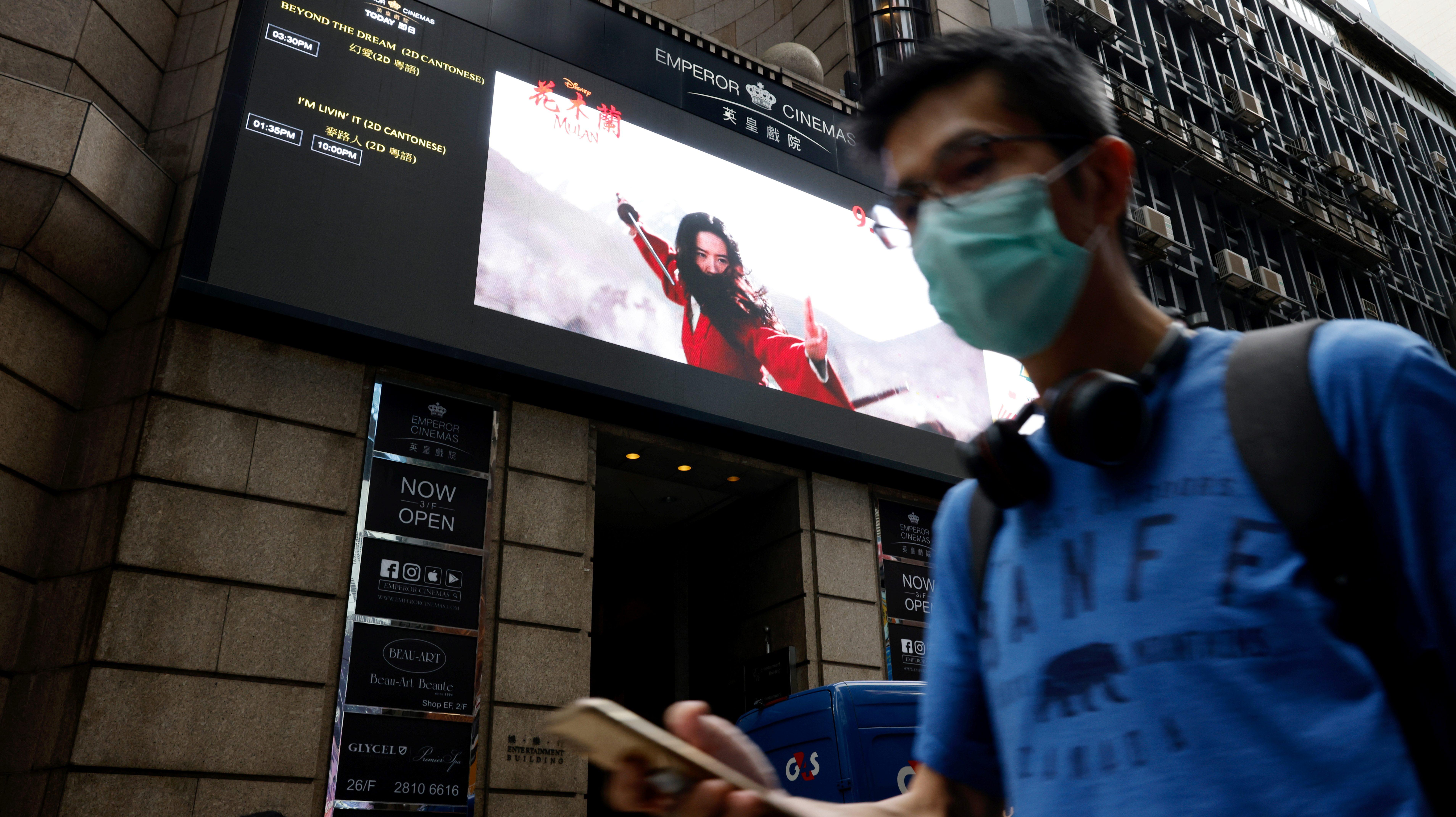 china box office hollywood movies