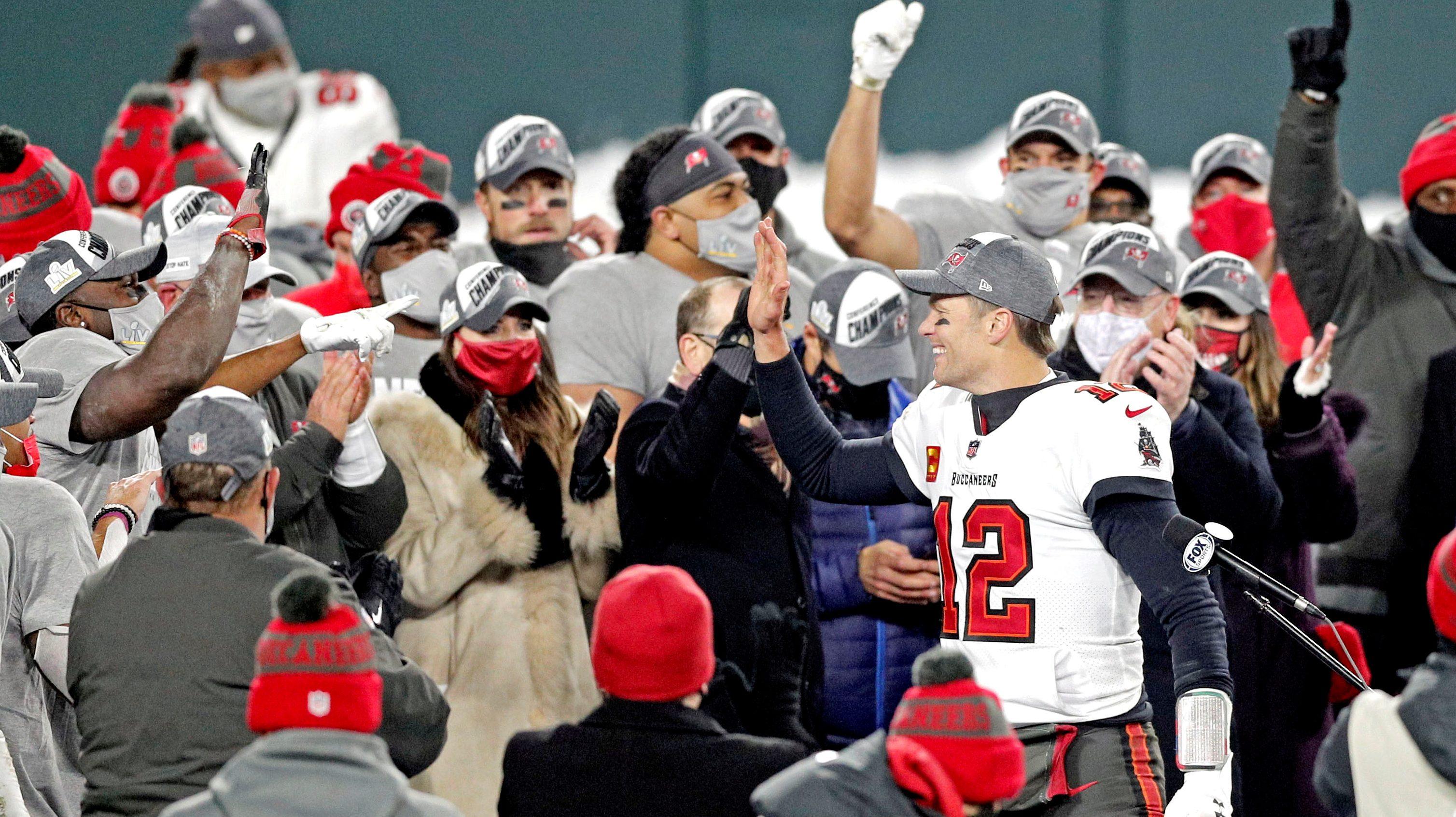 Tom Brady Tampa Bay Buccaneers Super Bowl LV
