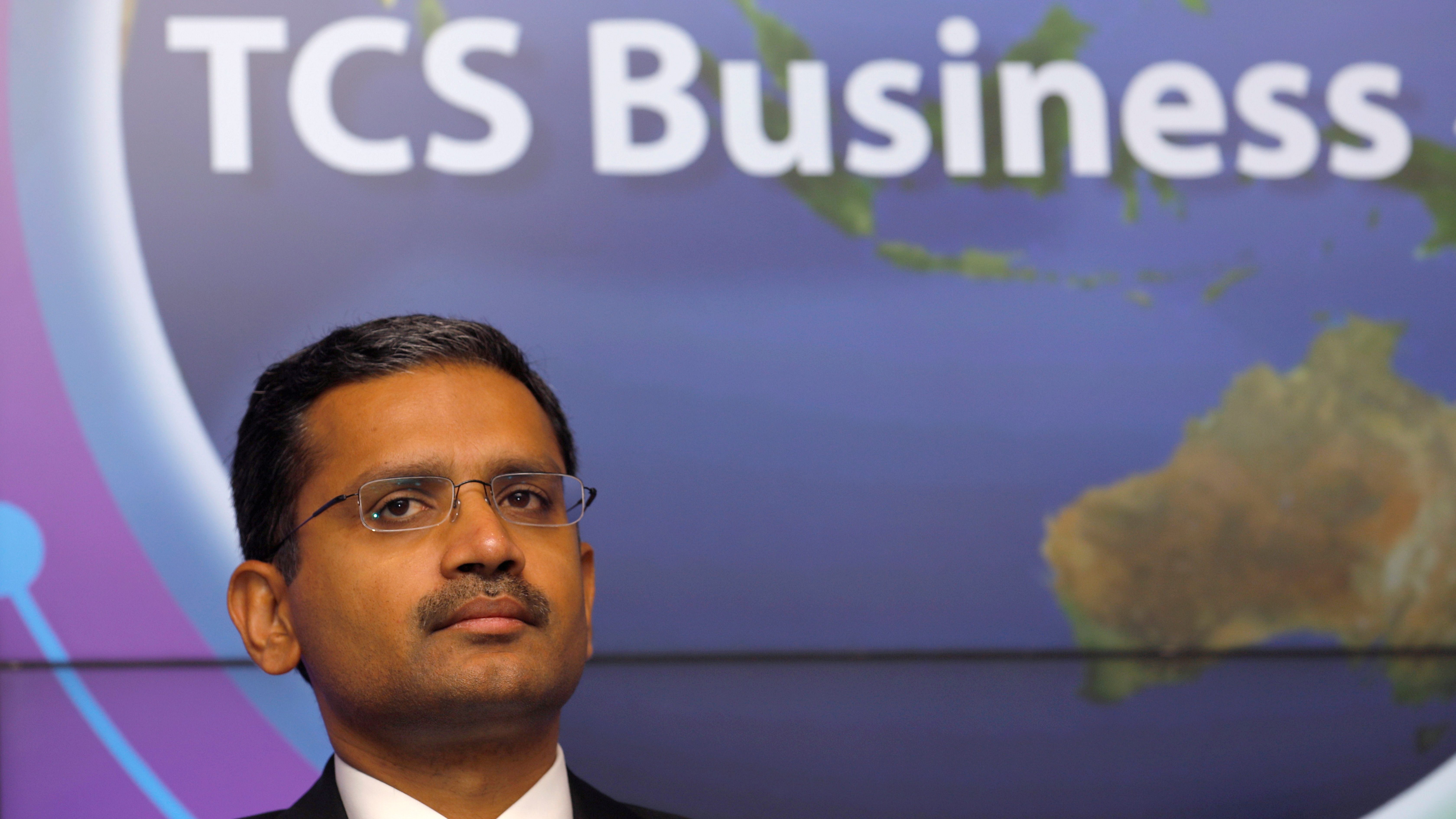 Tata Consultancy Services (TCS) Chief Executive Officer Rajesh Gopinathan