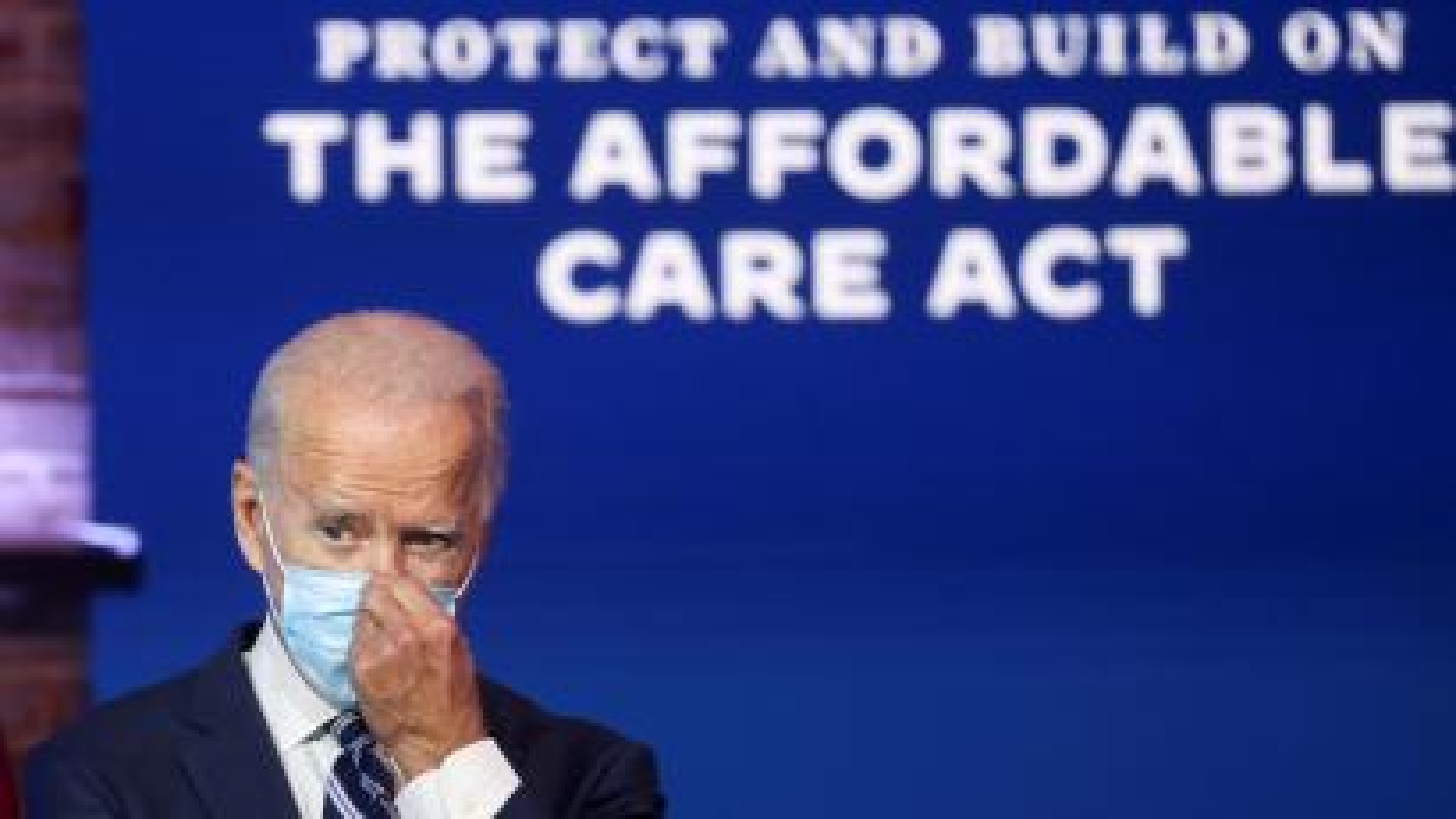 U.S. President Biden holds news conference in Wilmington, Delaware