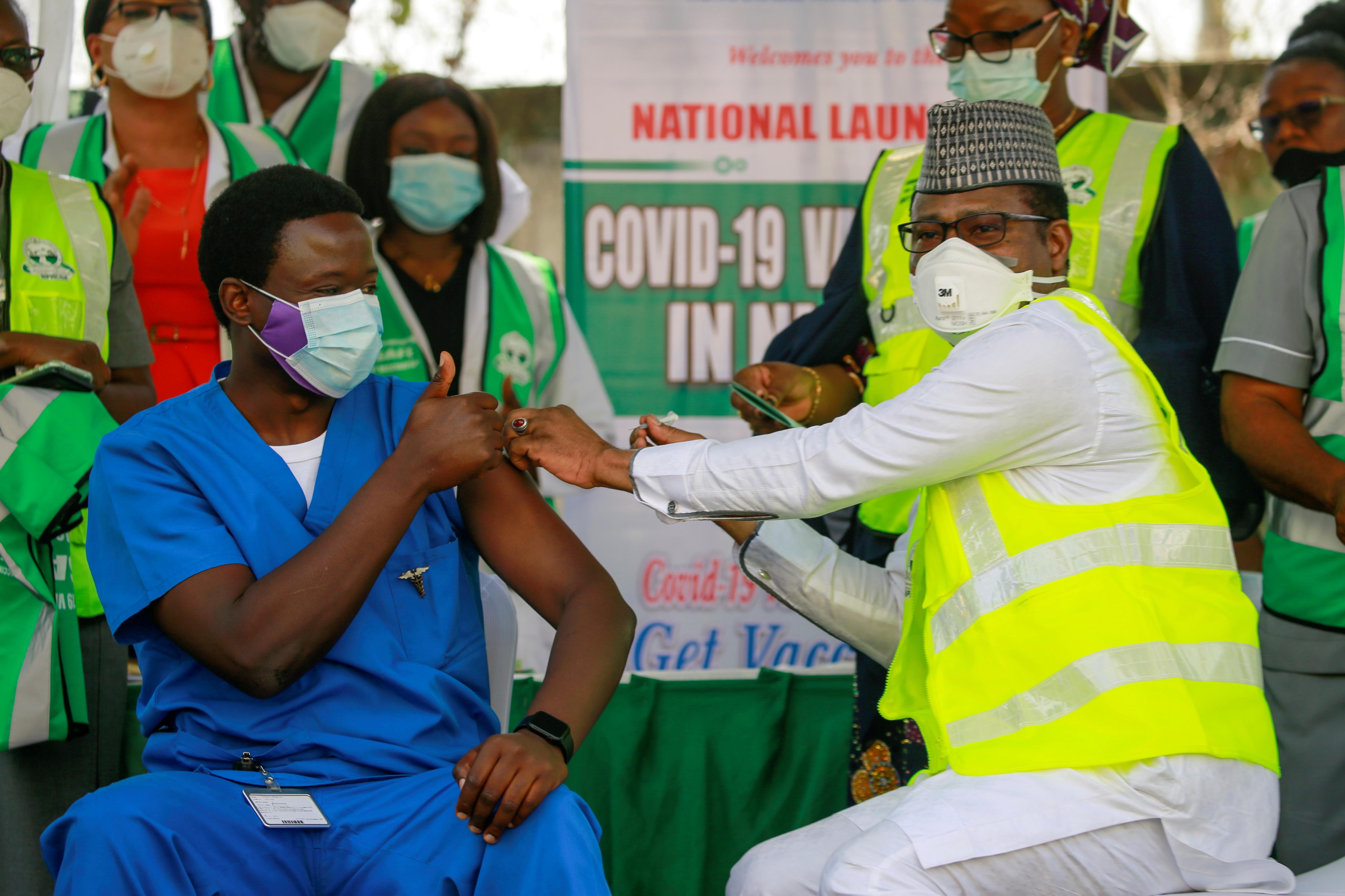 National hospital in Abuja, Nigeria
