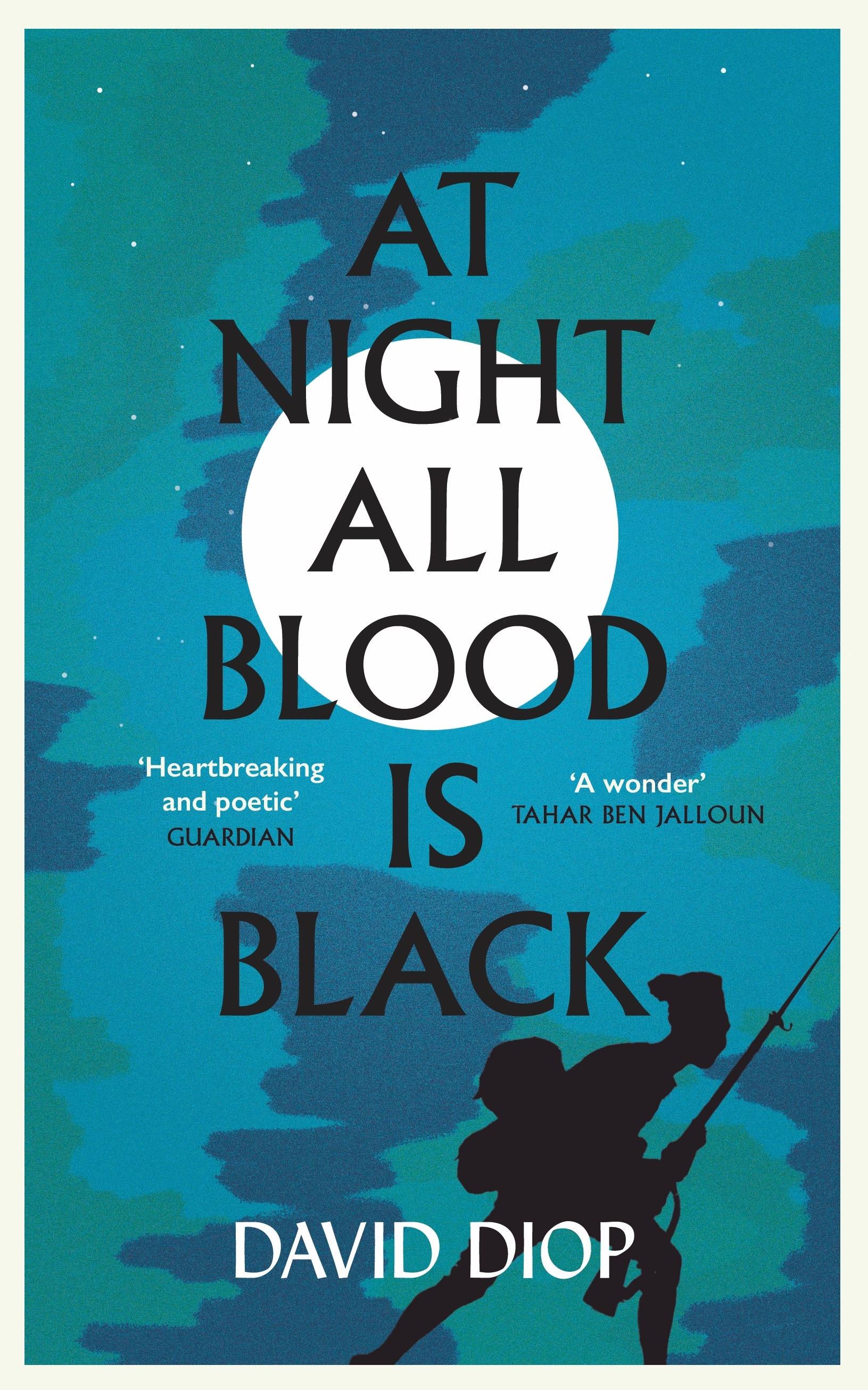 Capa de David Diop - À Noite, All Blood Is Black