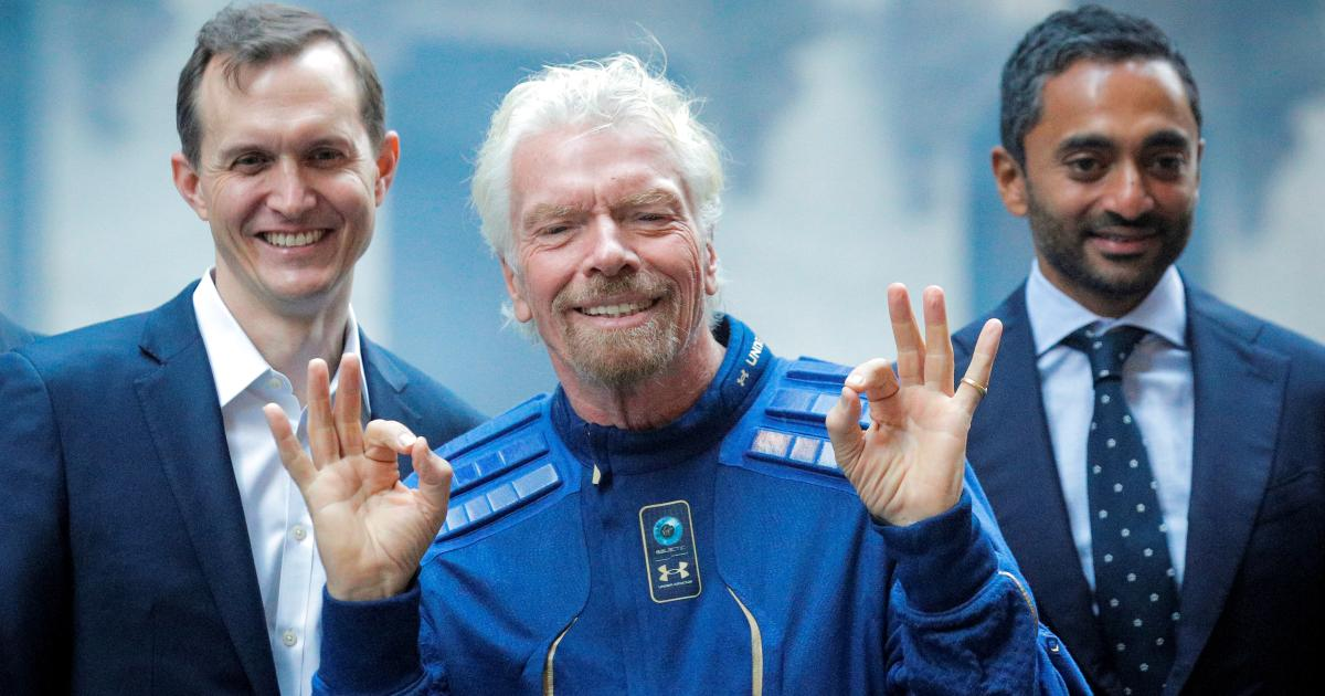 Virgin Galactic launched a wave of space SPACs - Quartz