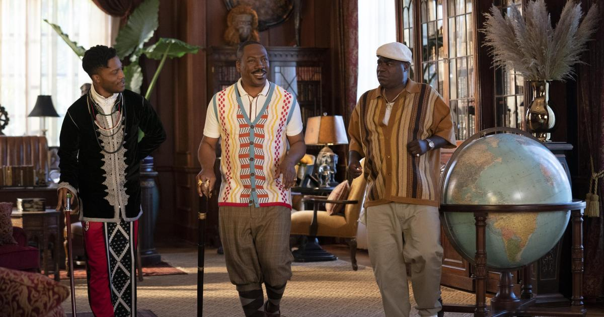 "Eddie Murphy is ""Coming 2 America"" in some standout African designs"