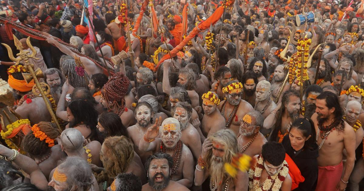 Even a once-in-a-century pandemic can't stop the world's largest Hindu gathering
