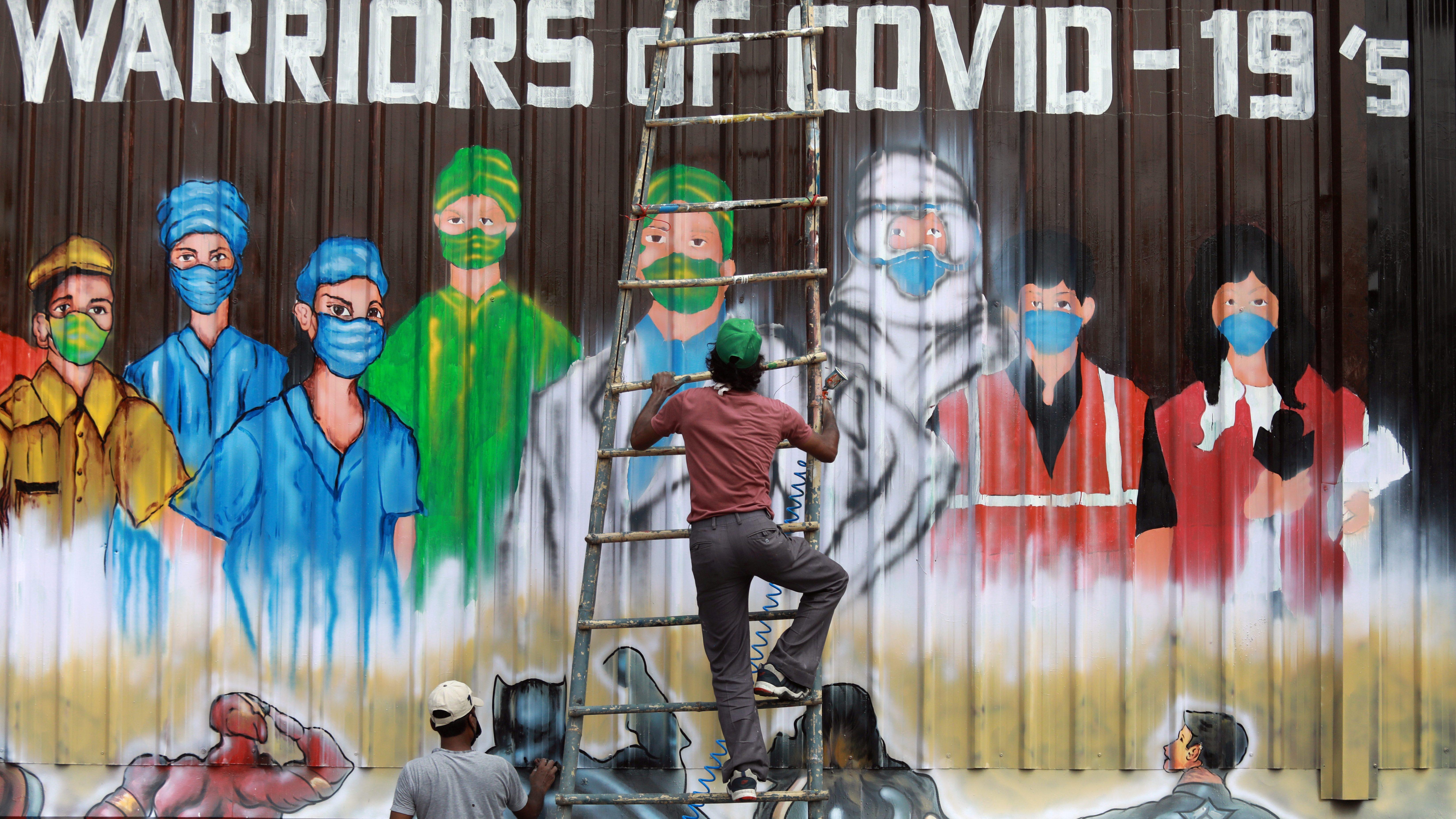 Spread of the coronavirus disease (COVID-19), in New Delhi
