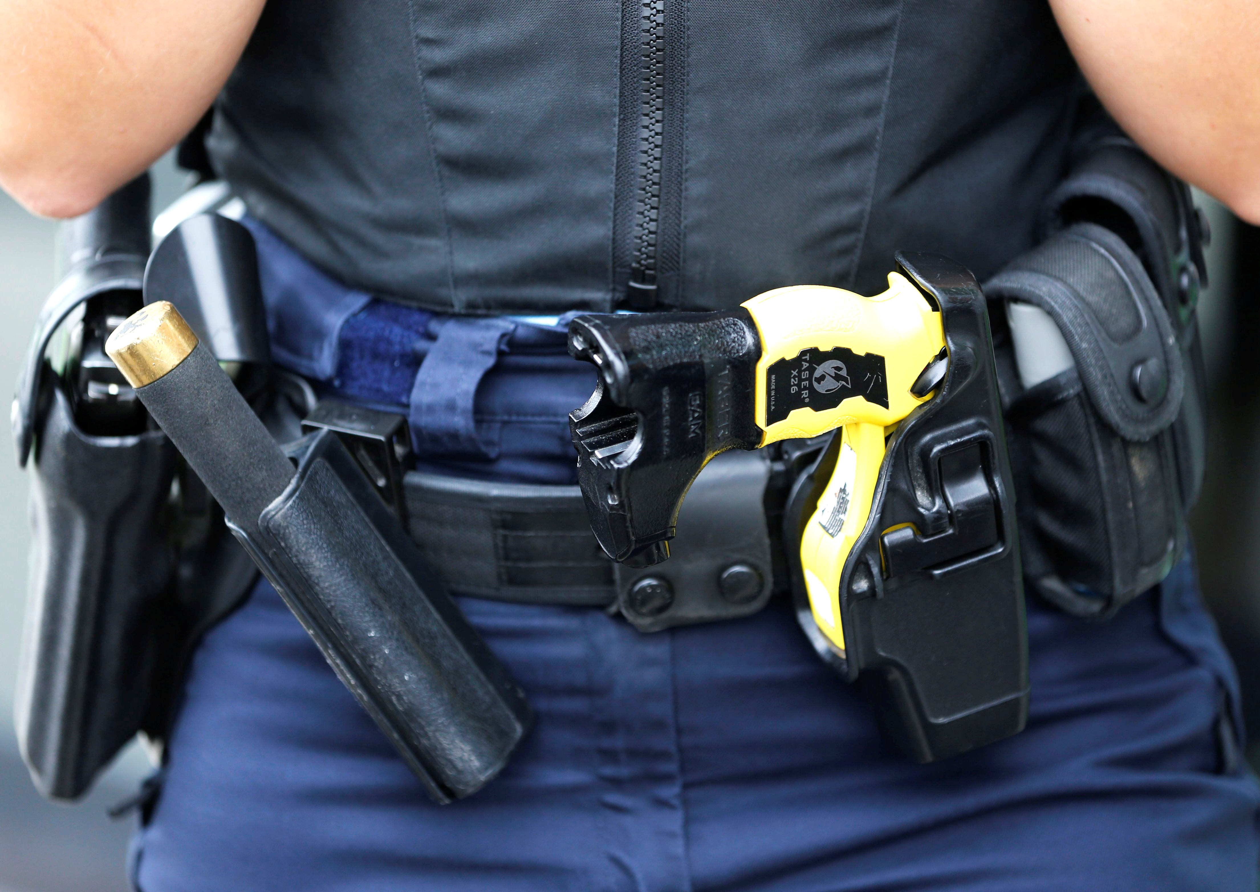 Photo of a duty holster