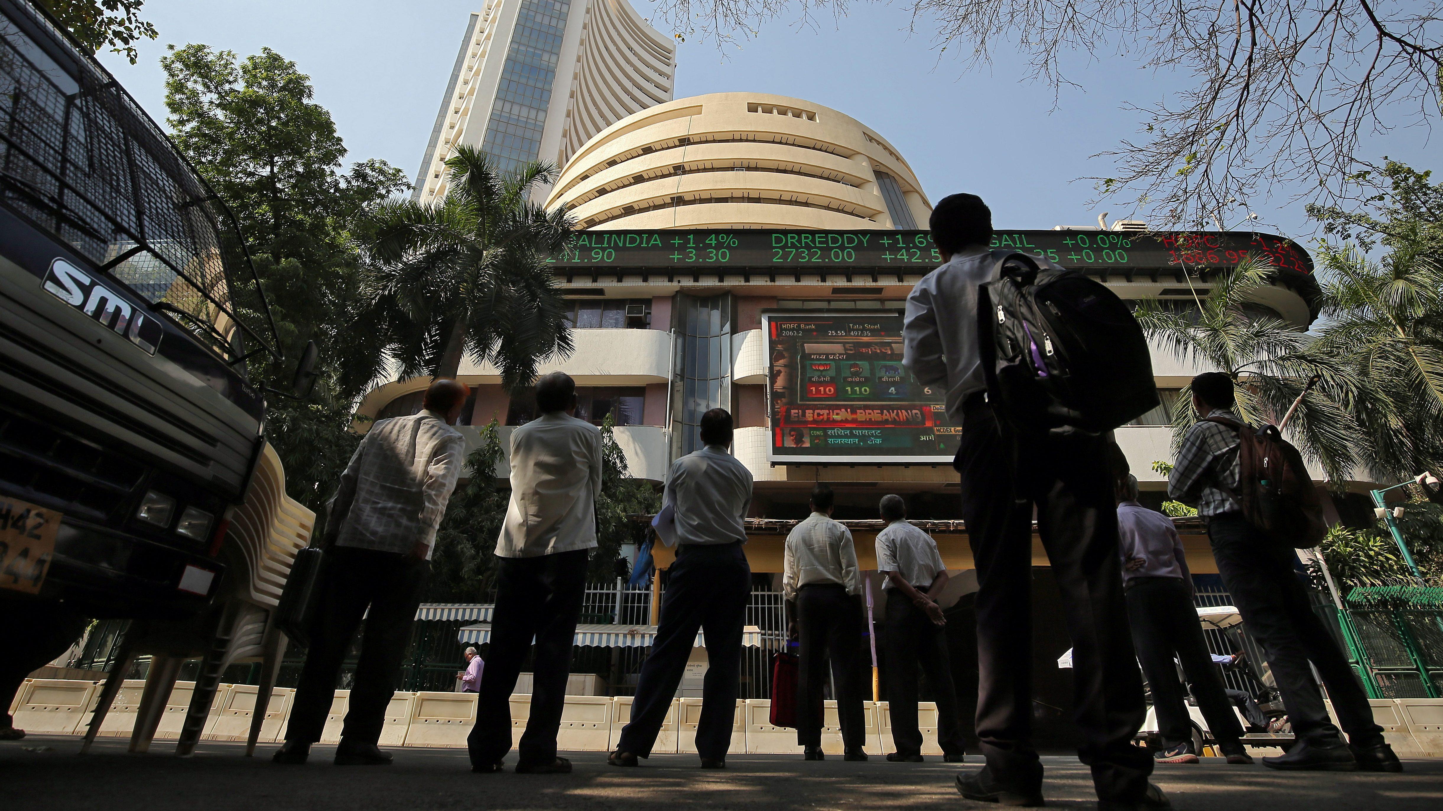 India-Brokerages-Stock markets