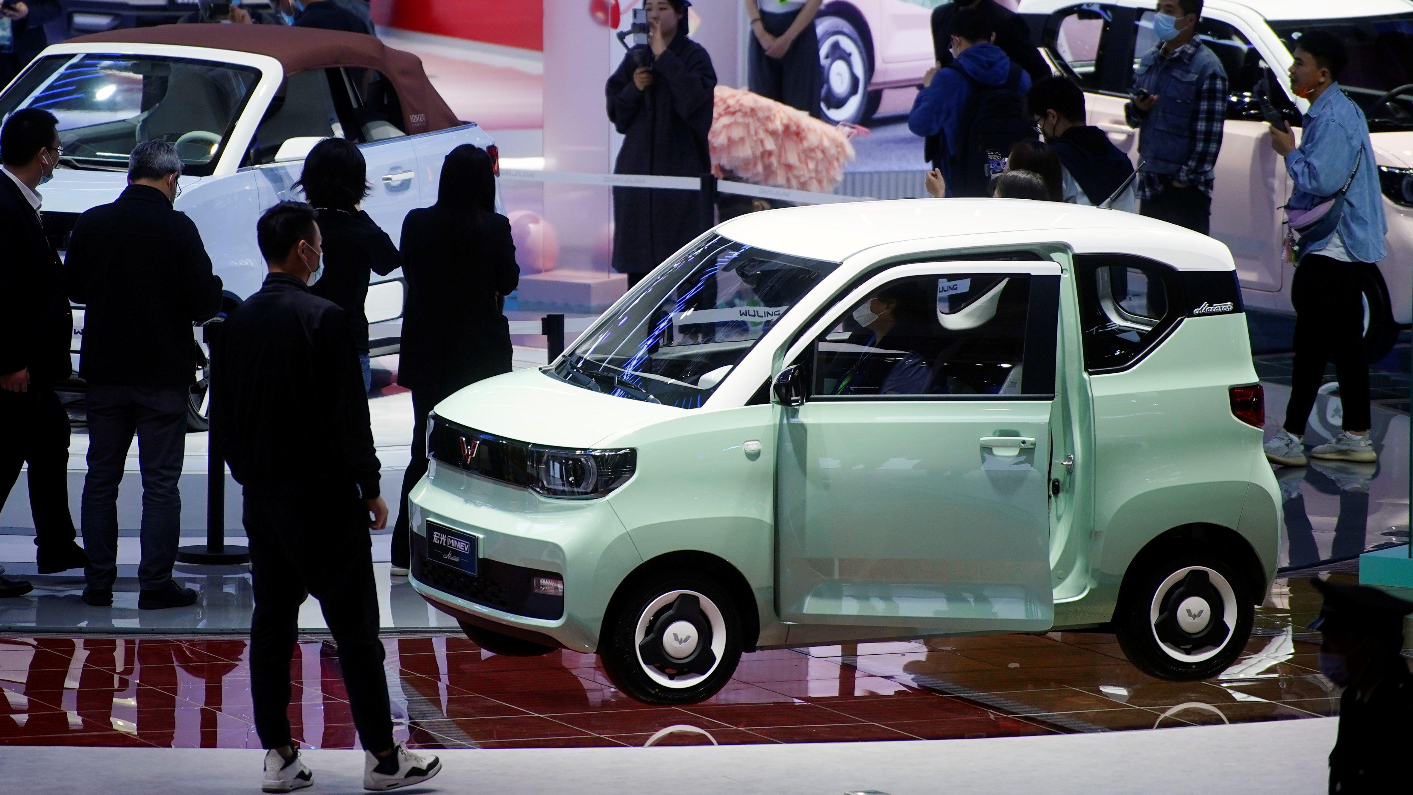 Auto Shanghai show in Shanghai