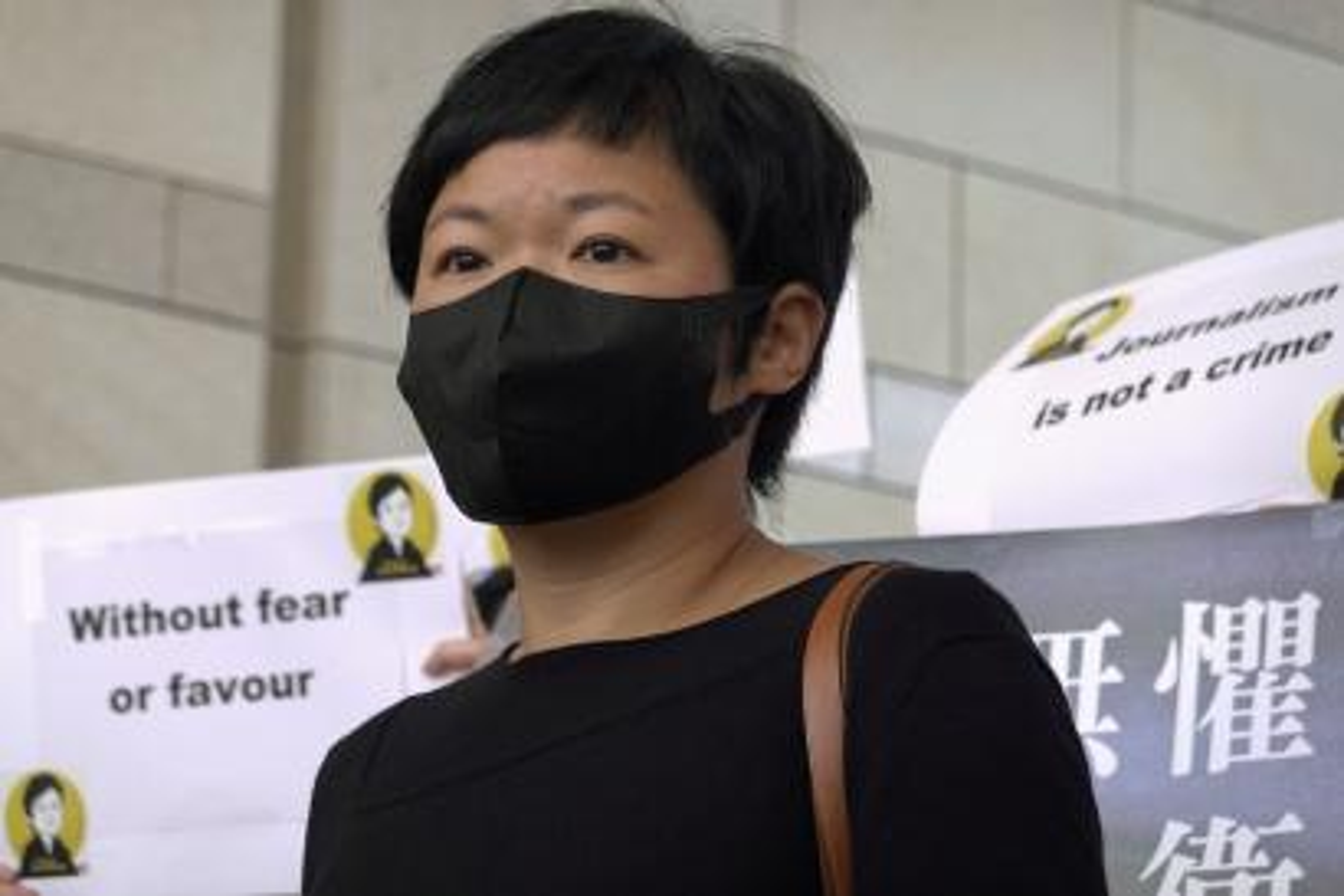 Hong Kong journalist Bao Choy Yuk-ling