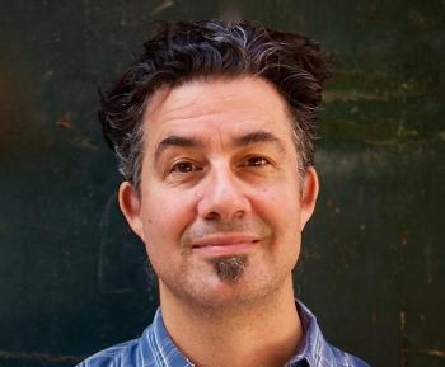 Portrait of Derrick Rossi
