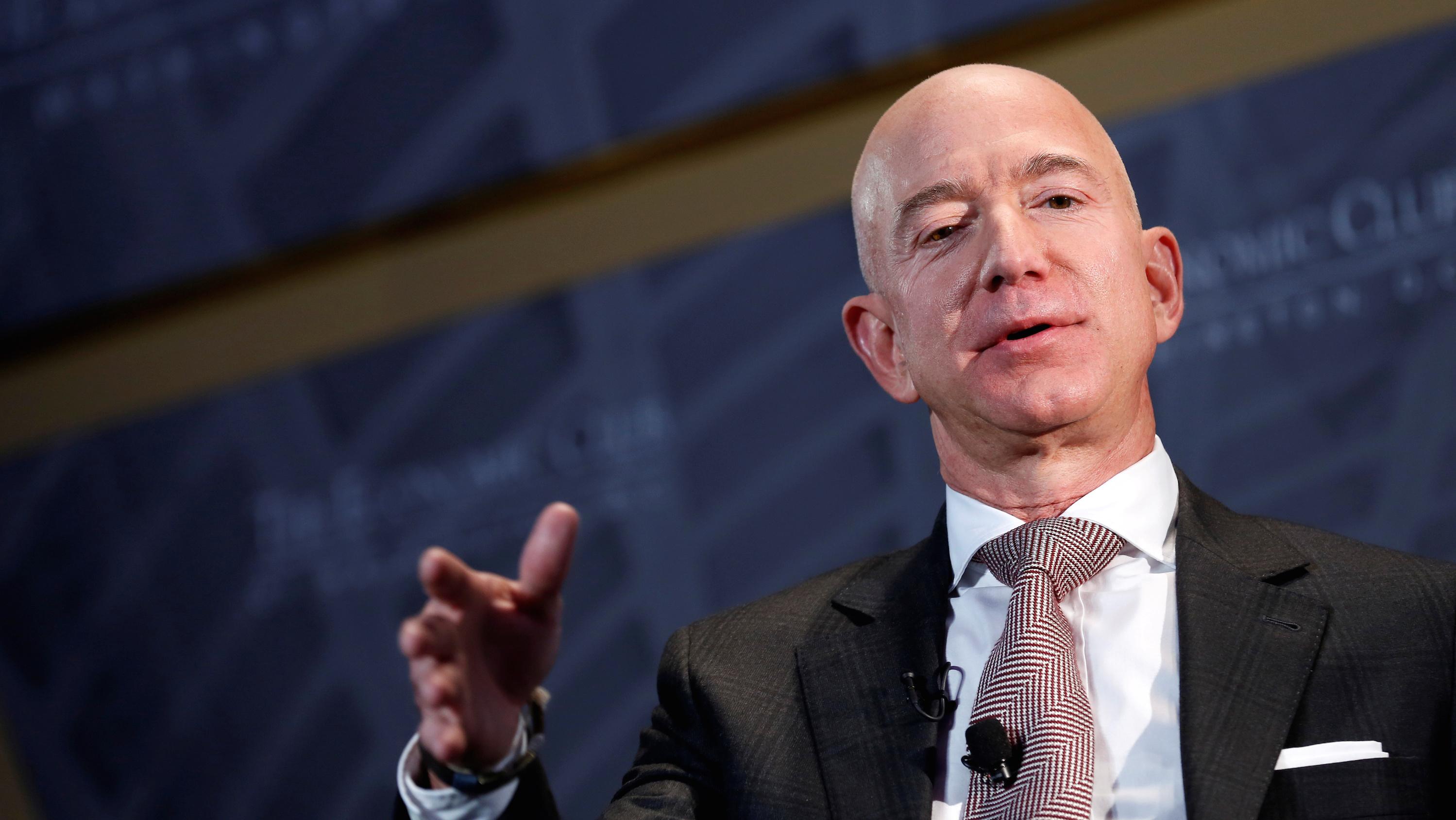 Photo of Amazon founder Jeff Bezos