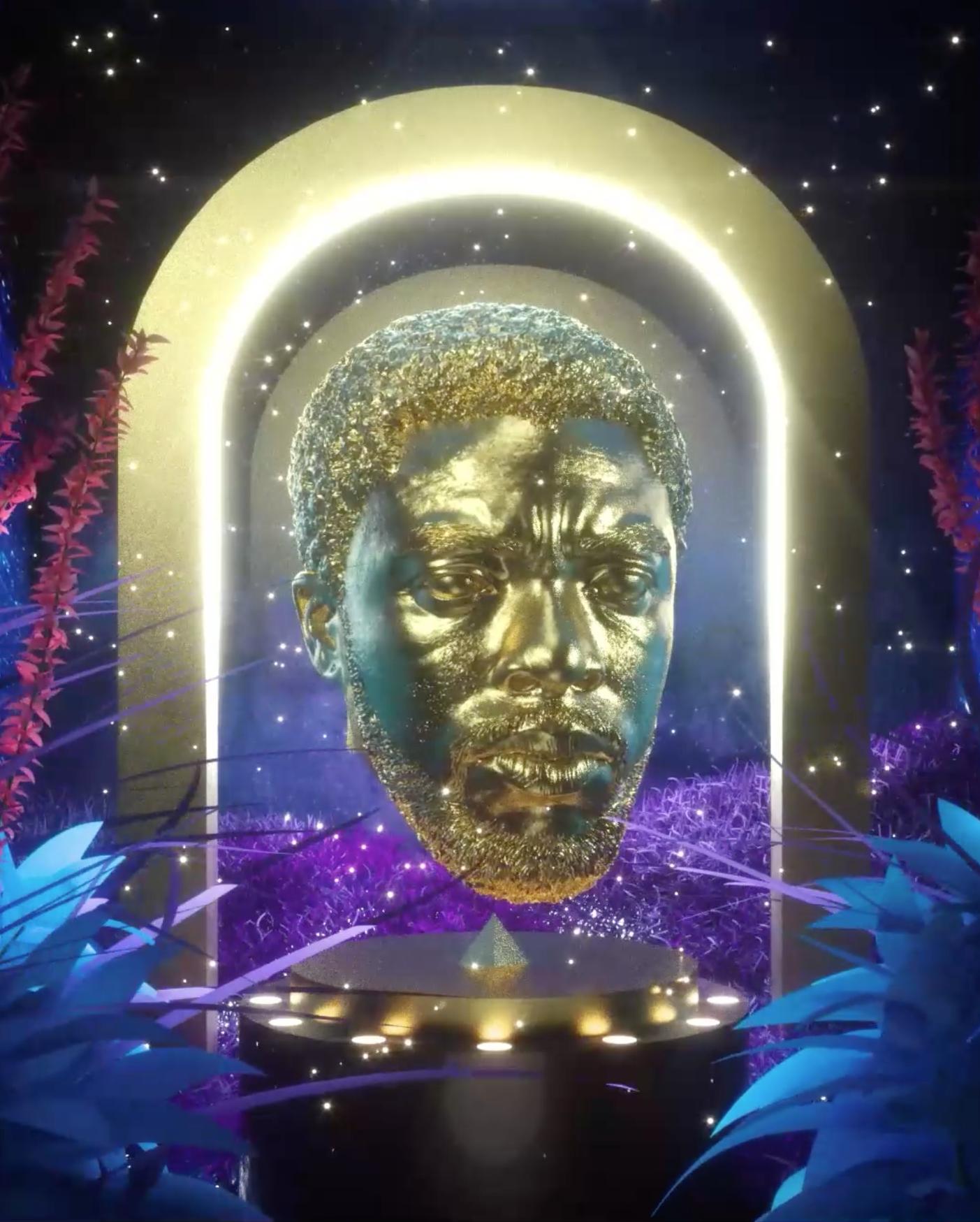 Chadwick Boseman NFT by Andre Oshea