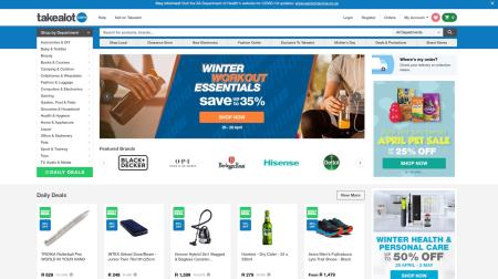 South African e-commerce website Takealot.com now accounts for at least a quarter and possibly as much as half of South Africa's online retail.