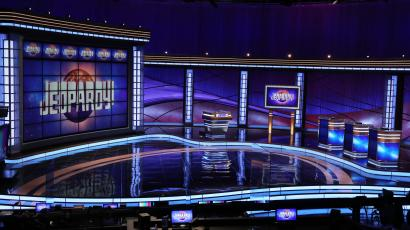 jeopardy tv show set