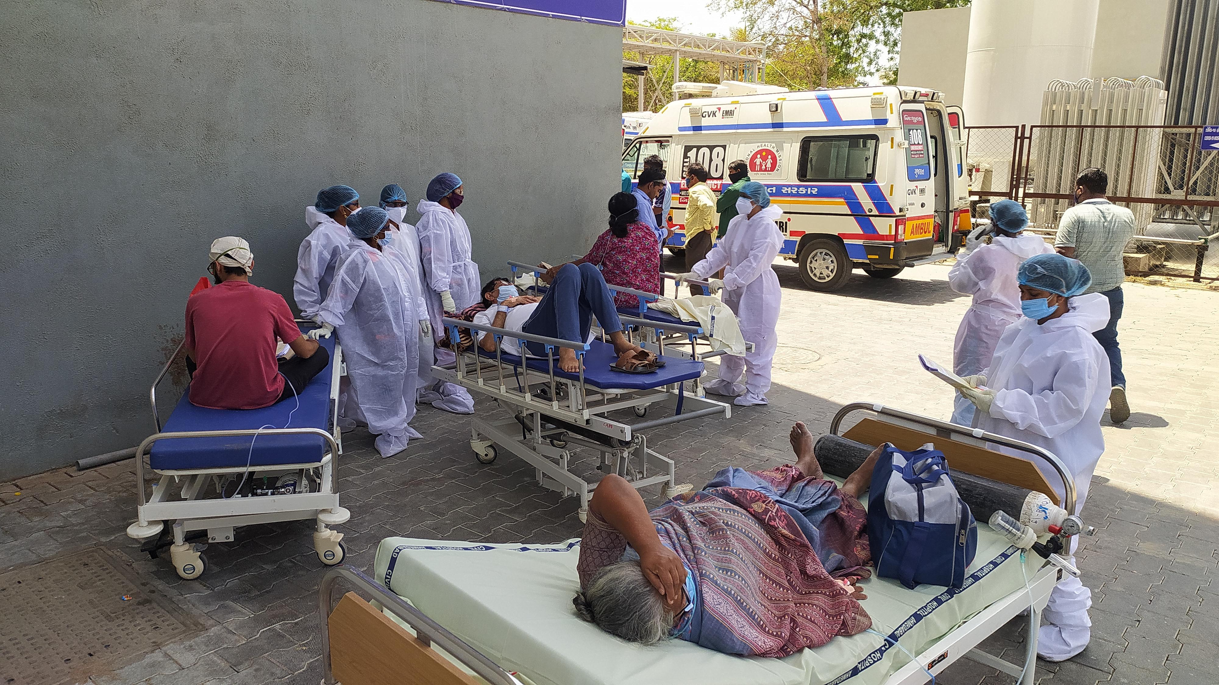 Covid hospital Ahmedabad