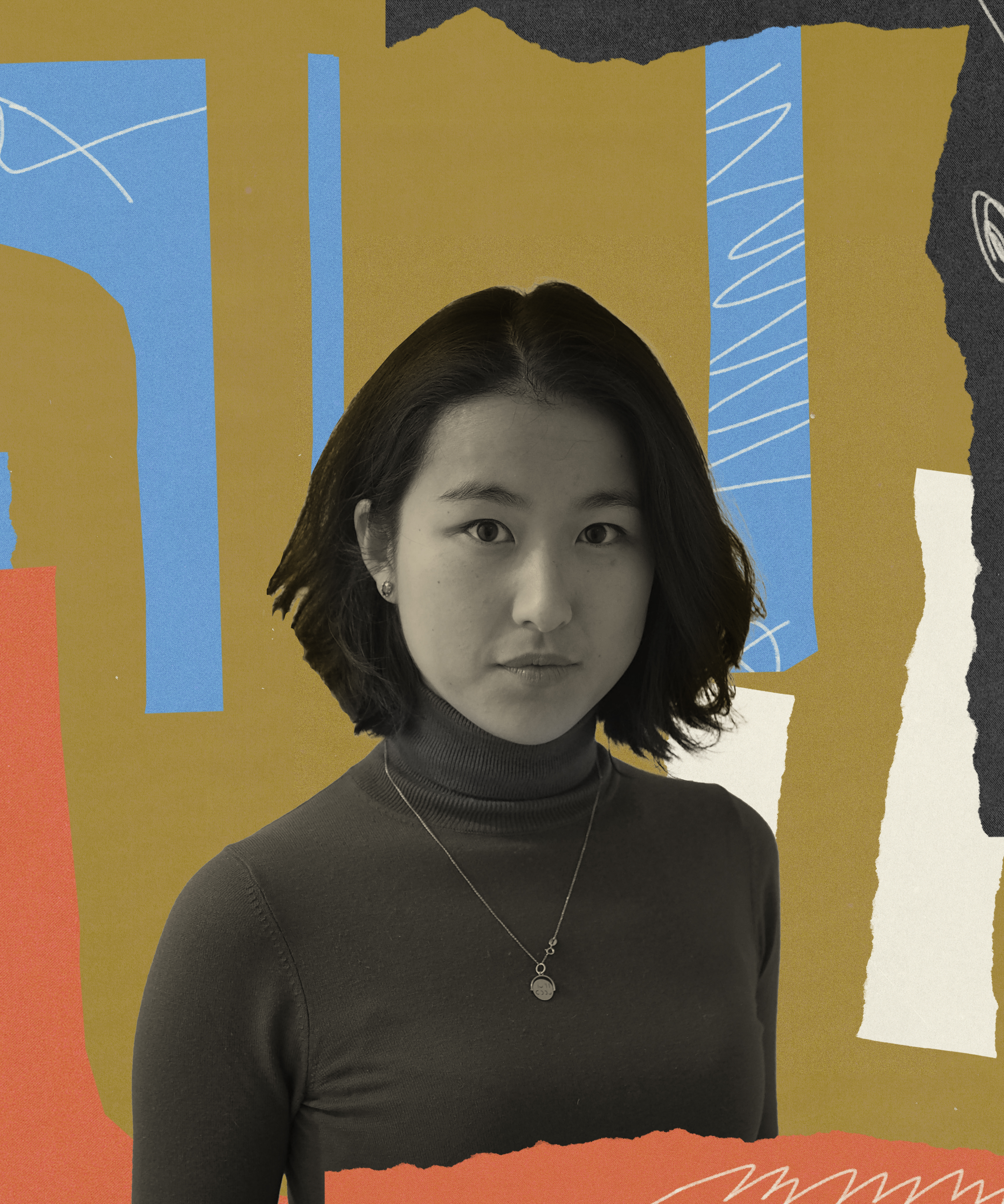 Abstract photo illustration of Cindy Yu