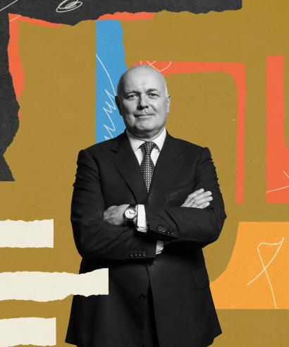 Abstract photo illustration of Lain Duncan Smith