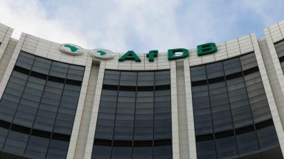 The headquarters of the African Development Bank in Abidjan.