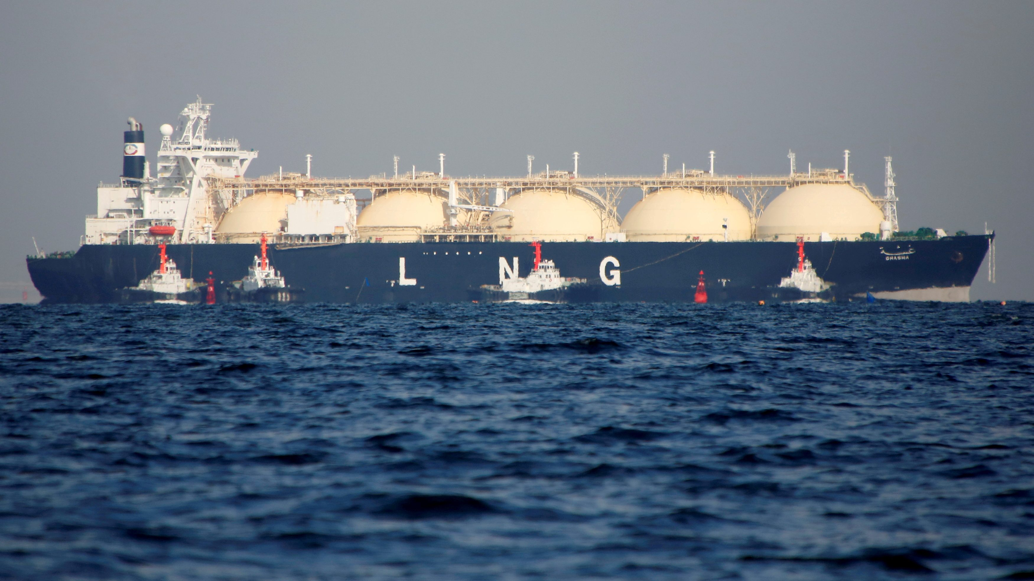 Liquified natural gas terminals are at risk.