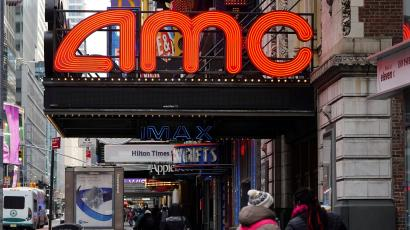 An AMC theater in New York.