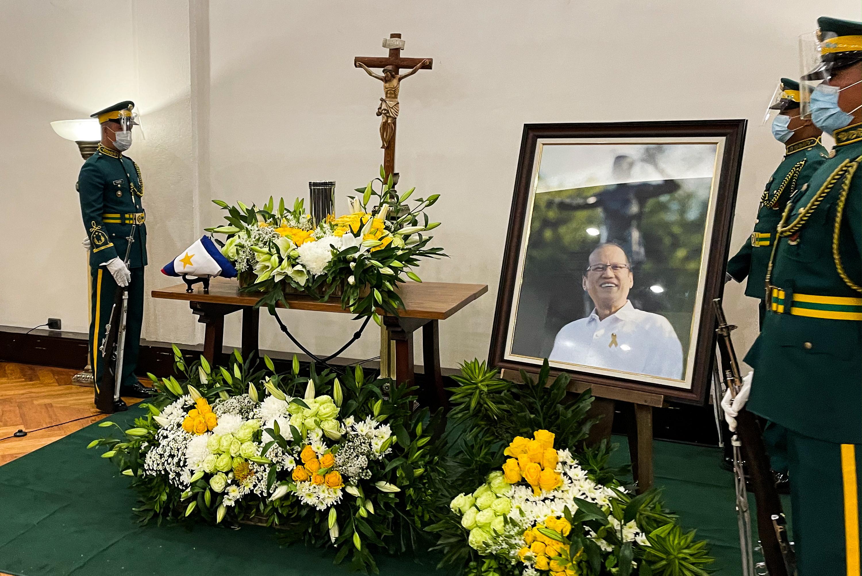 Wake of Former Philippine President Benigno Aquino