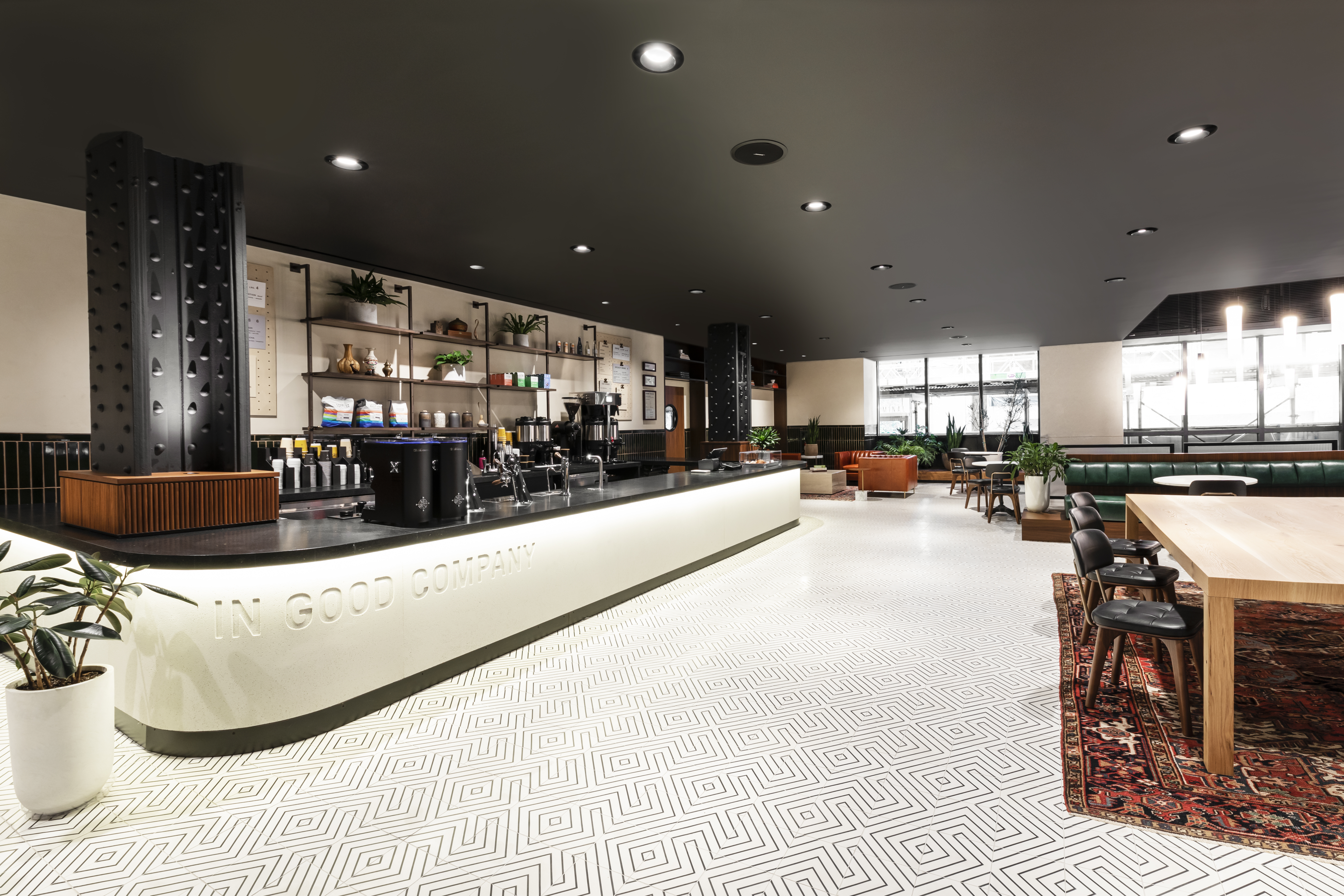 A new coffee bar at the lobby