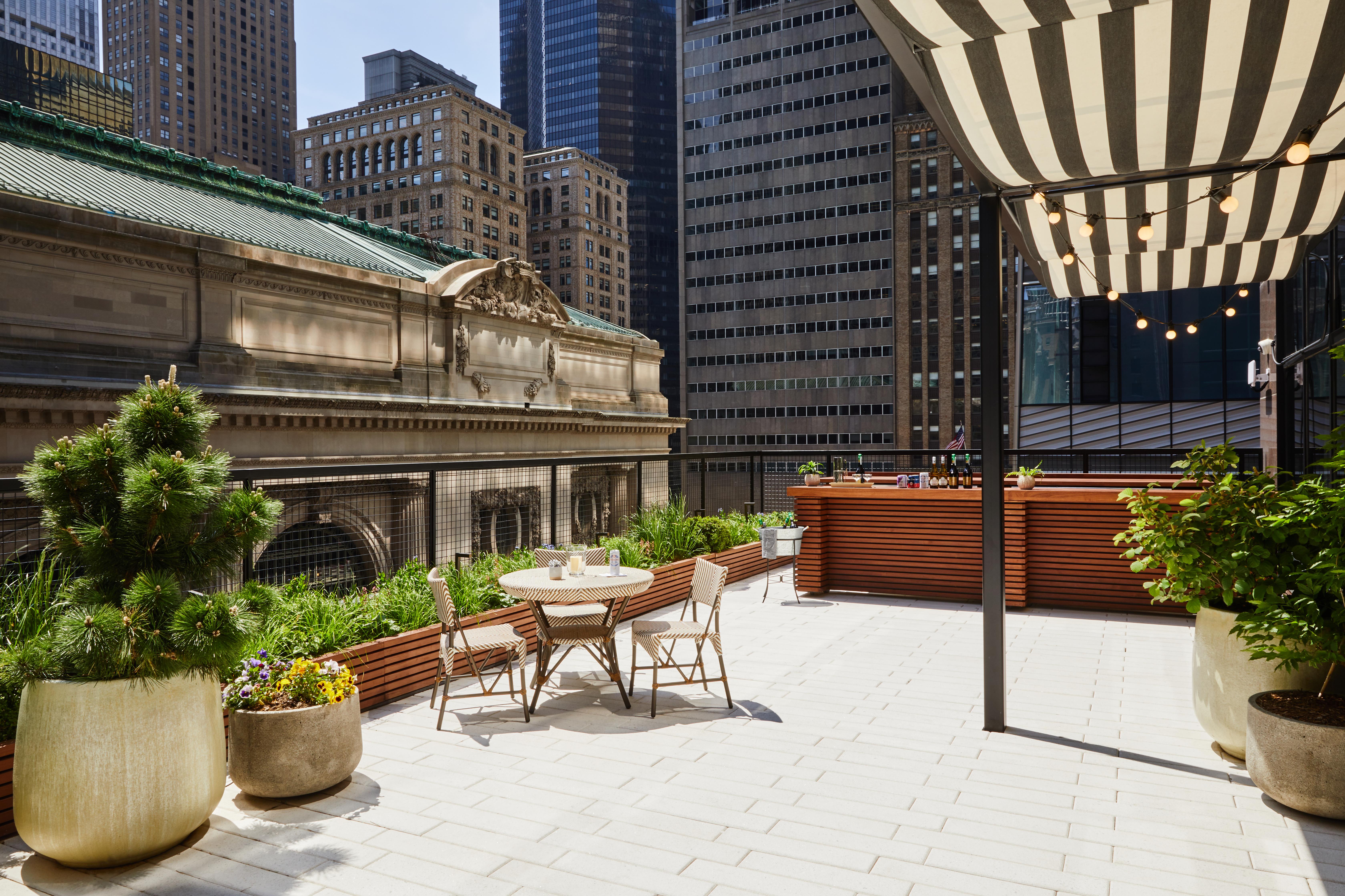 Company's terrace