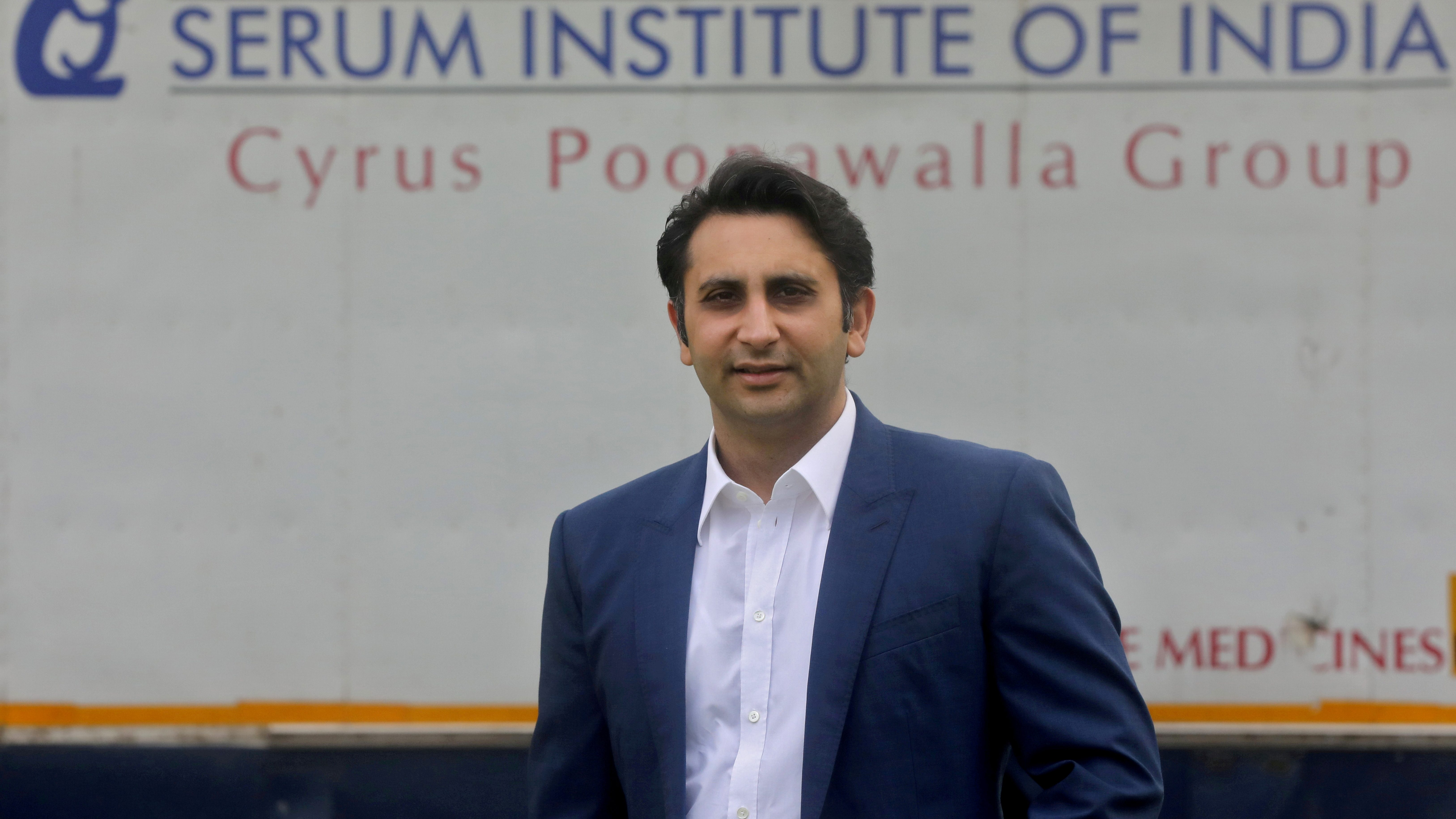 Adar Poonawalla, Chief Executive Officer (CEO) of the Serum Institute of India poses for a picture at the Serum Institute of India, Pune