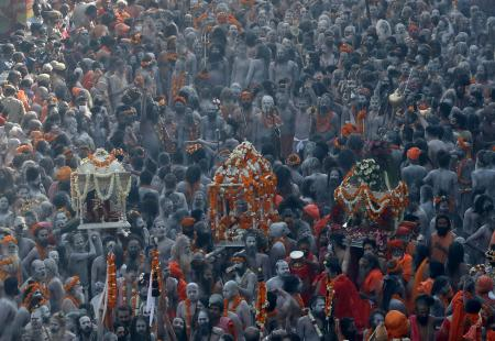 The world's largest Hindu congregation, the Kumbh Mela, took place in central India while the second wave of Covid-19 raged on.