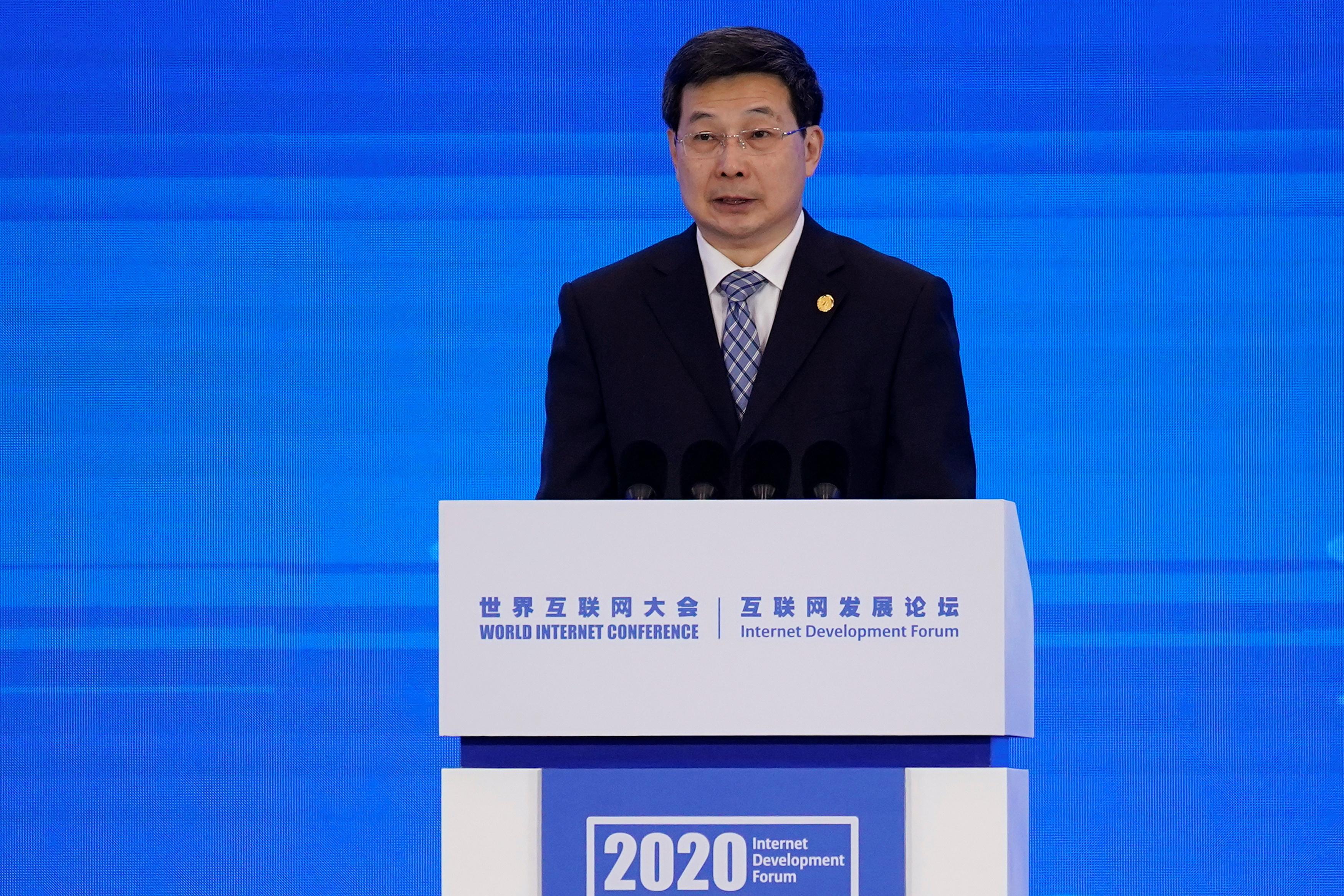 CAC head Zhuang Rongwen