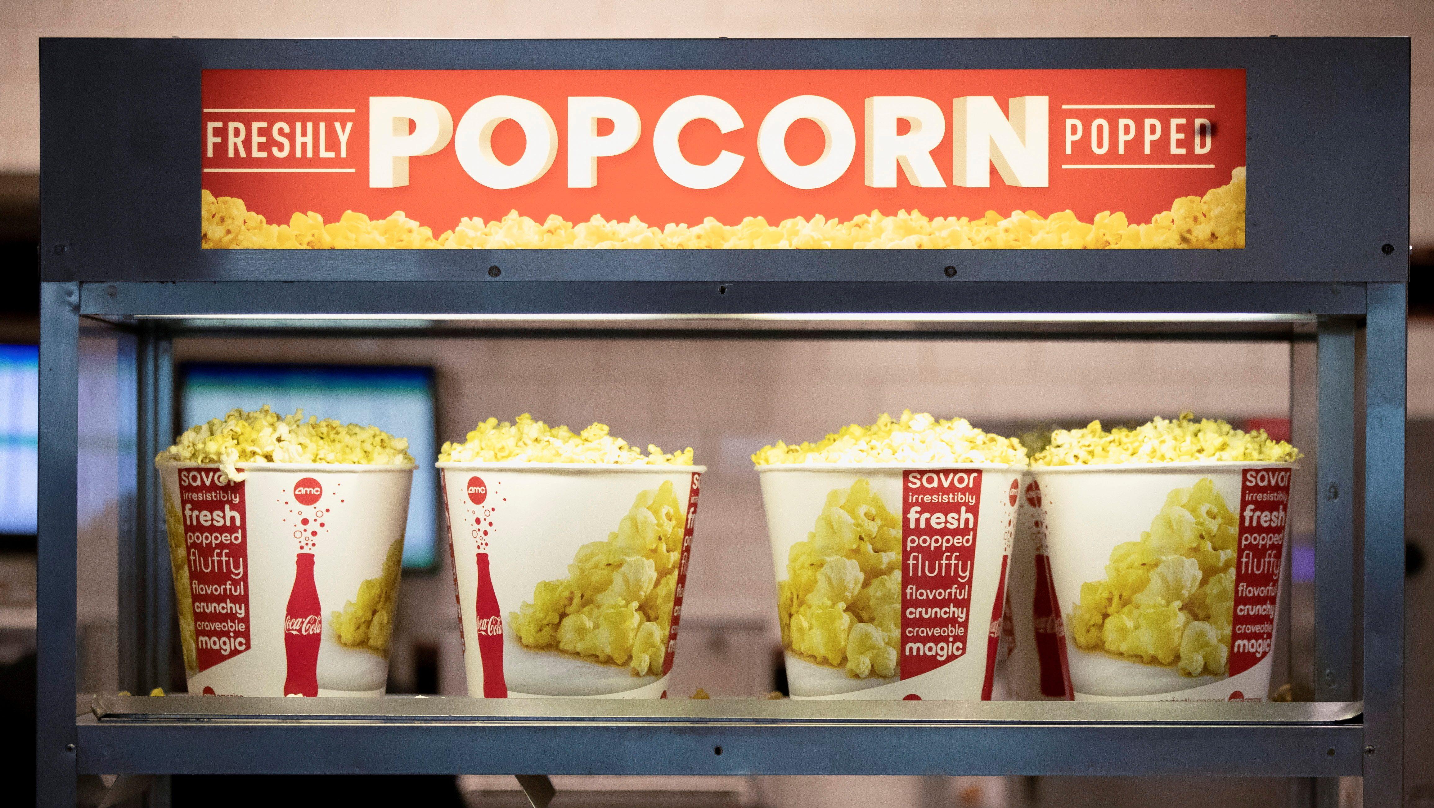 AMC theater popcorn.