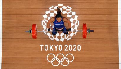 Tokyo 2020 Olympics - Weightlifting - Women's 55kg - Group A