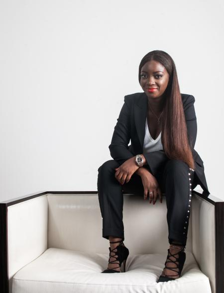 Ghanaian curator Adora Mba is the founder of the new ADA \ Contemporary art gallery in Accra.