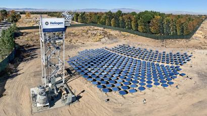 Heliogen, a concentrating solar power startup, went public through a SPAC in July.