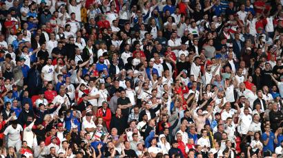 Sixty thousand people packed Wembley to see Italy defeat England on Sunday, July 11.