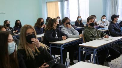 Schools reopen after easing of COVID-19 restrictions in Athens