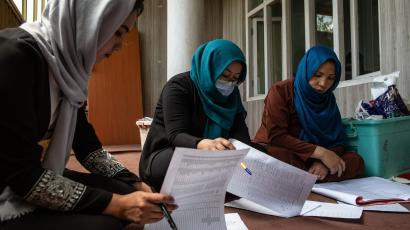 Afghan girls determined to go back to school after deadly attack