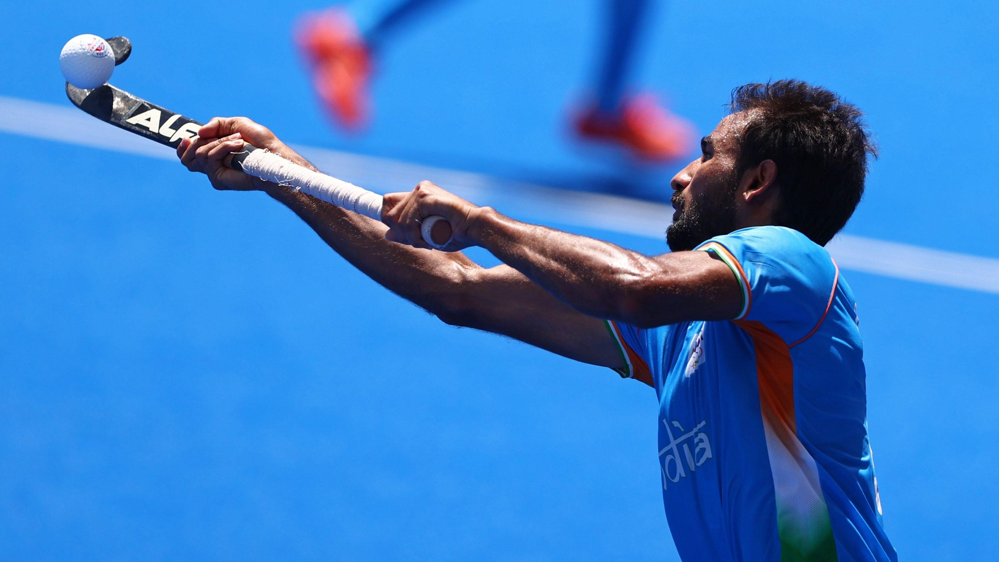 Hockey - Men - Semifinal - India v Belgium