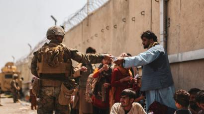 US forces assist in Afghanistan evacuation