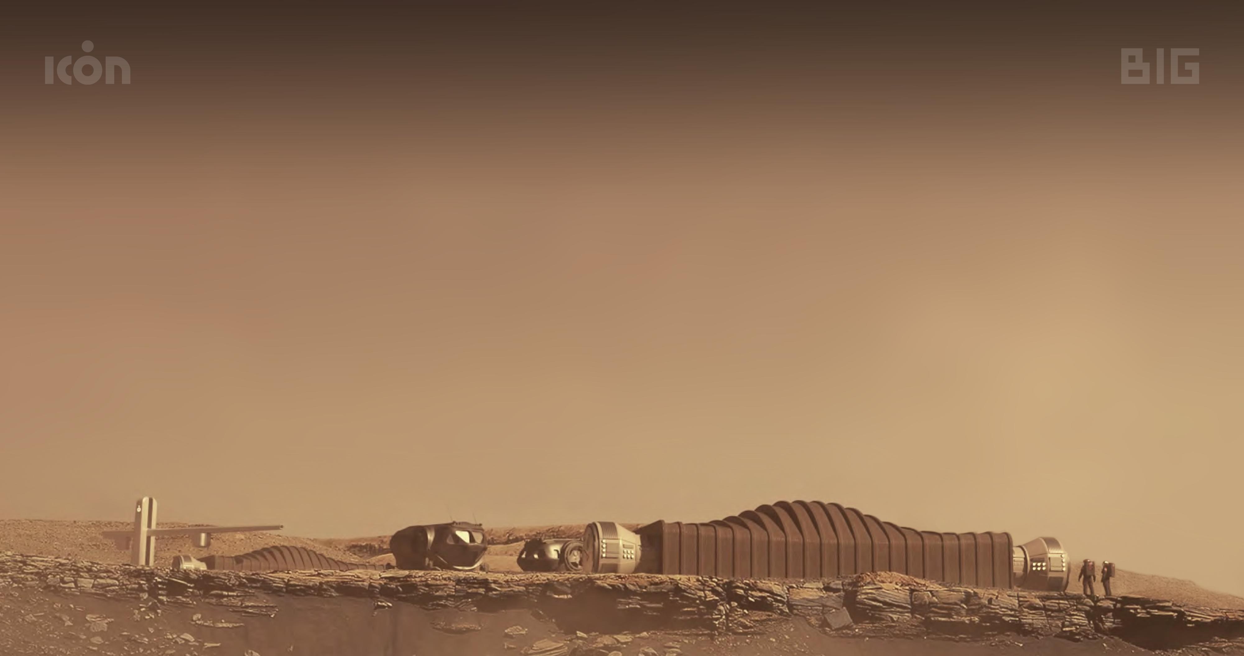Mars Dune Alpha rendering