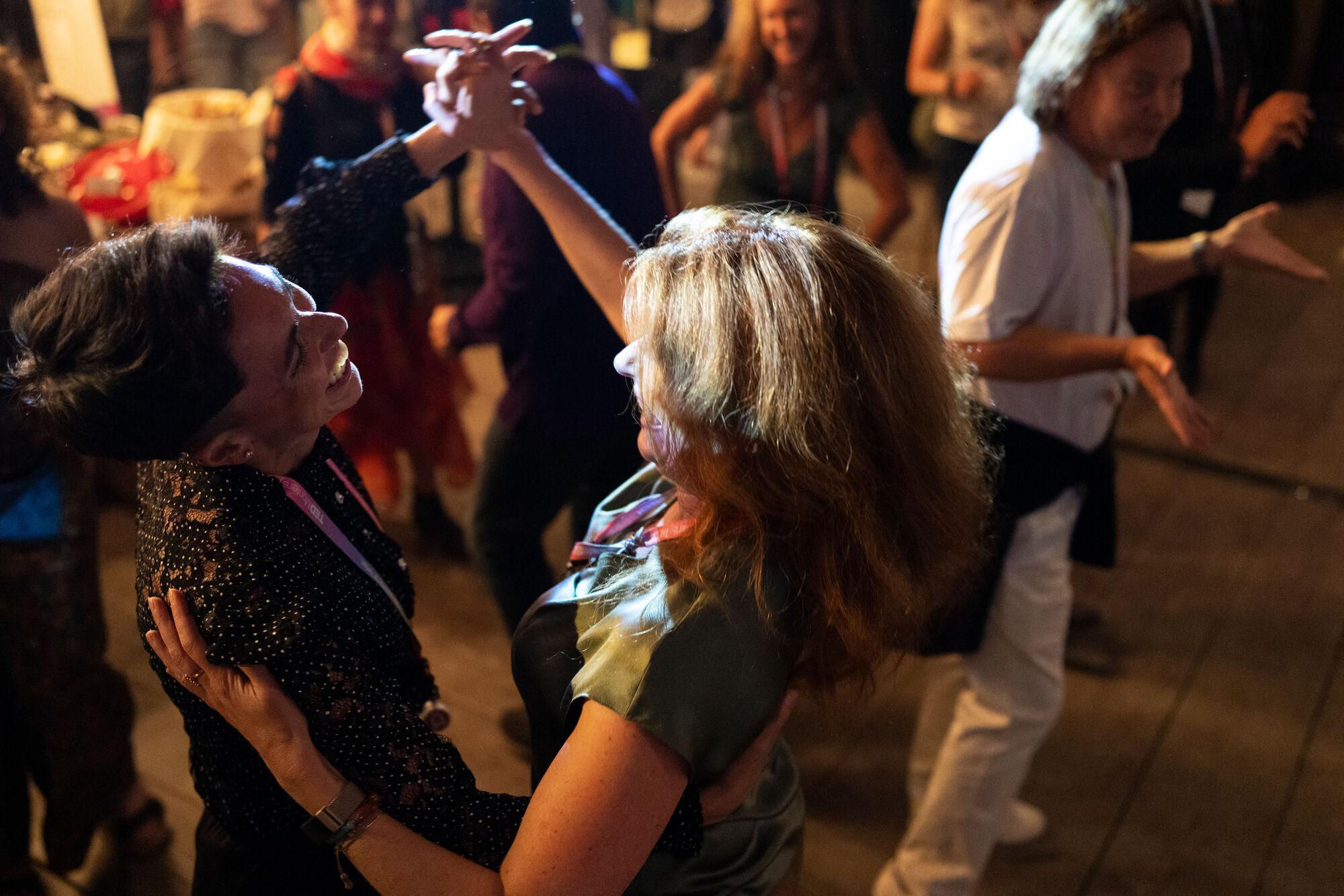 Dancing at TEDMonterey