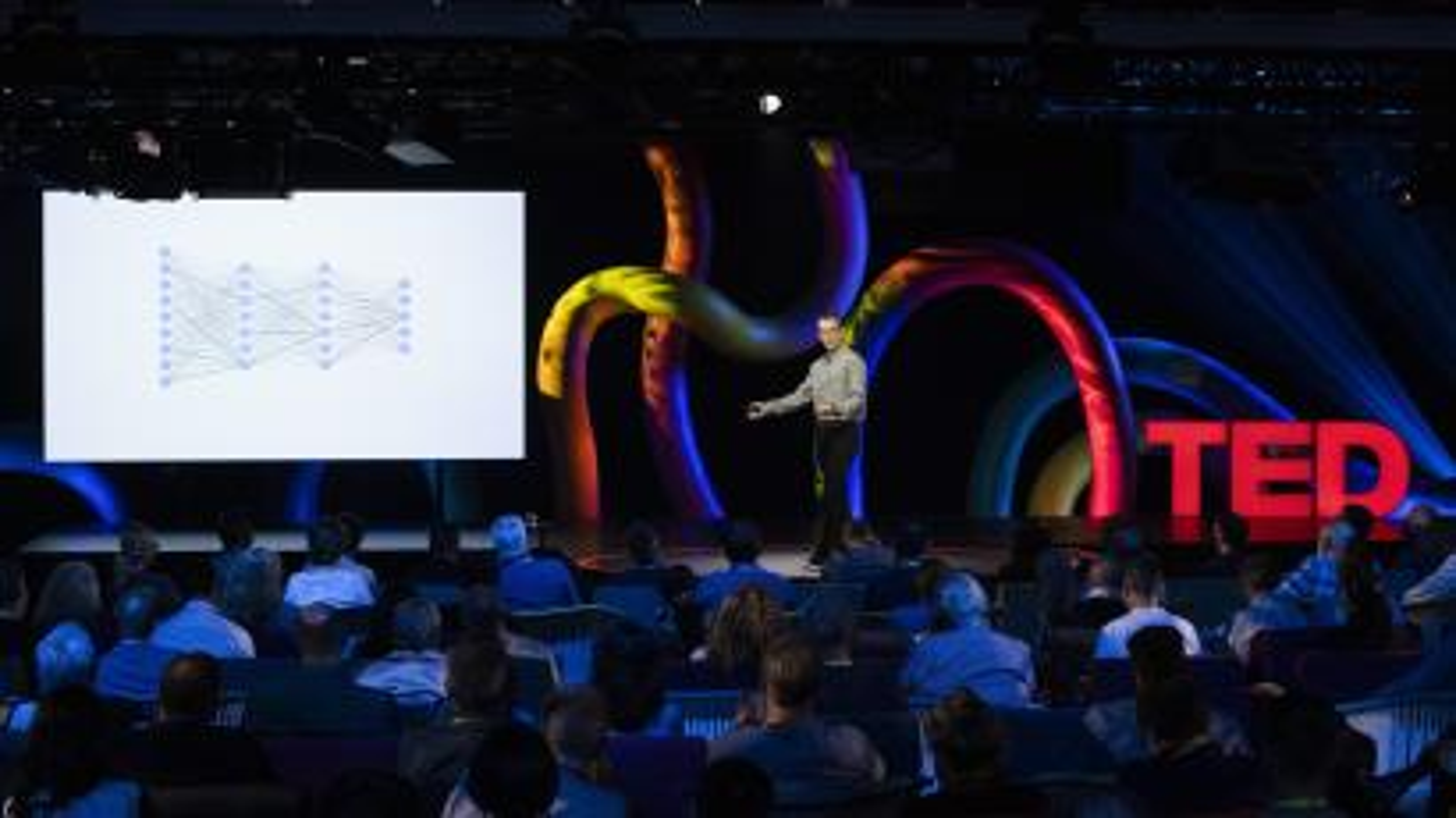 Jeff Dean speaks at TEDMonterey on August 3, 2021. TEDMonterey: The Case for Optimism. August 1-4, 2021, Monterey, California. Photo: Ryan Lash / TED