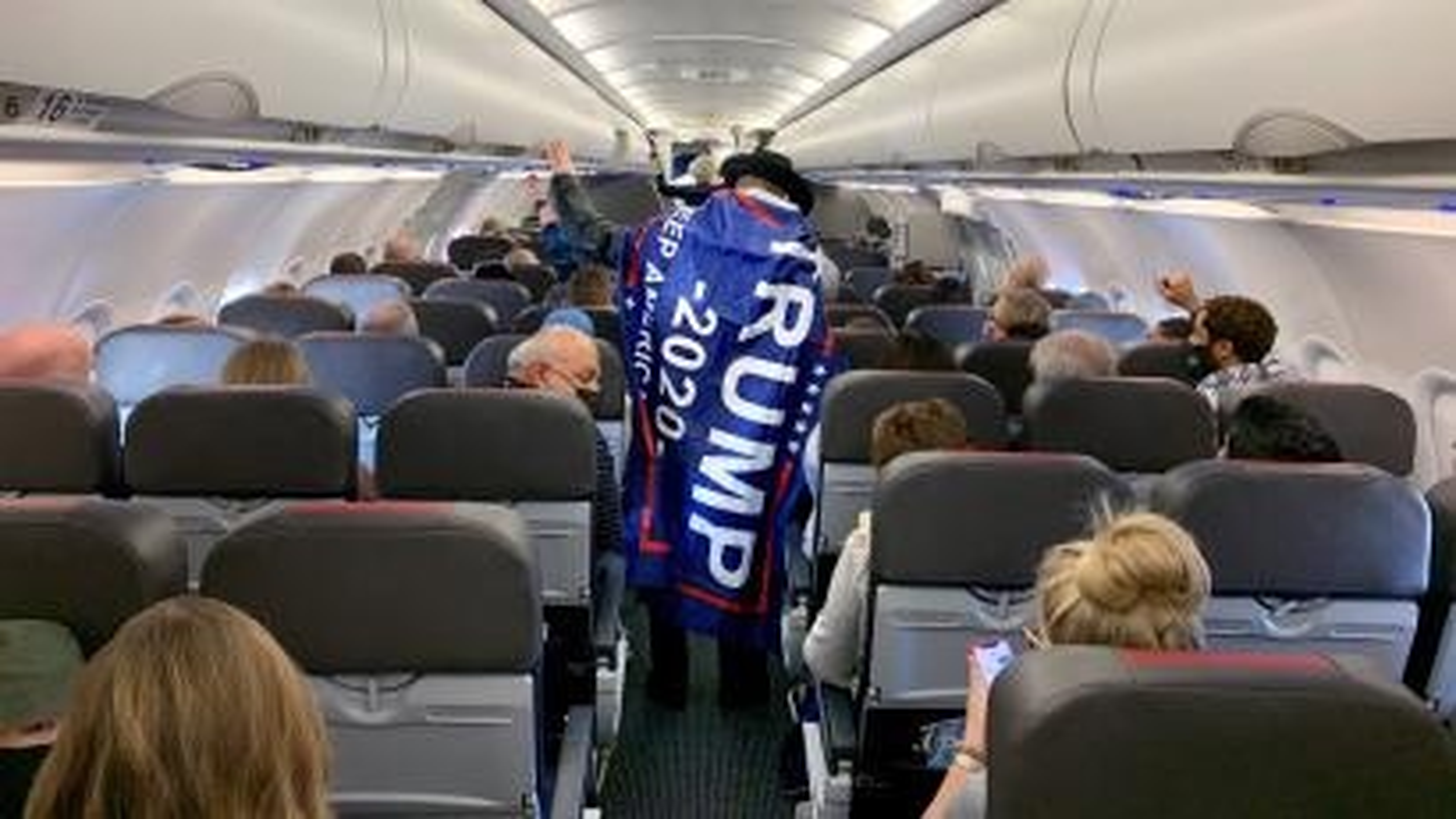 American Airlines flight prepares to depart Dallas/Fort Worth International Airport, Texas