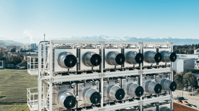Climeworks, a Swiss startup, builds machines that draw CO2 from the atmosphere. Their biggest facility to date will open in Iceland on Sept. 8.